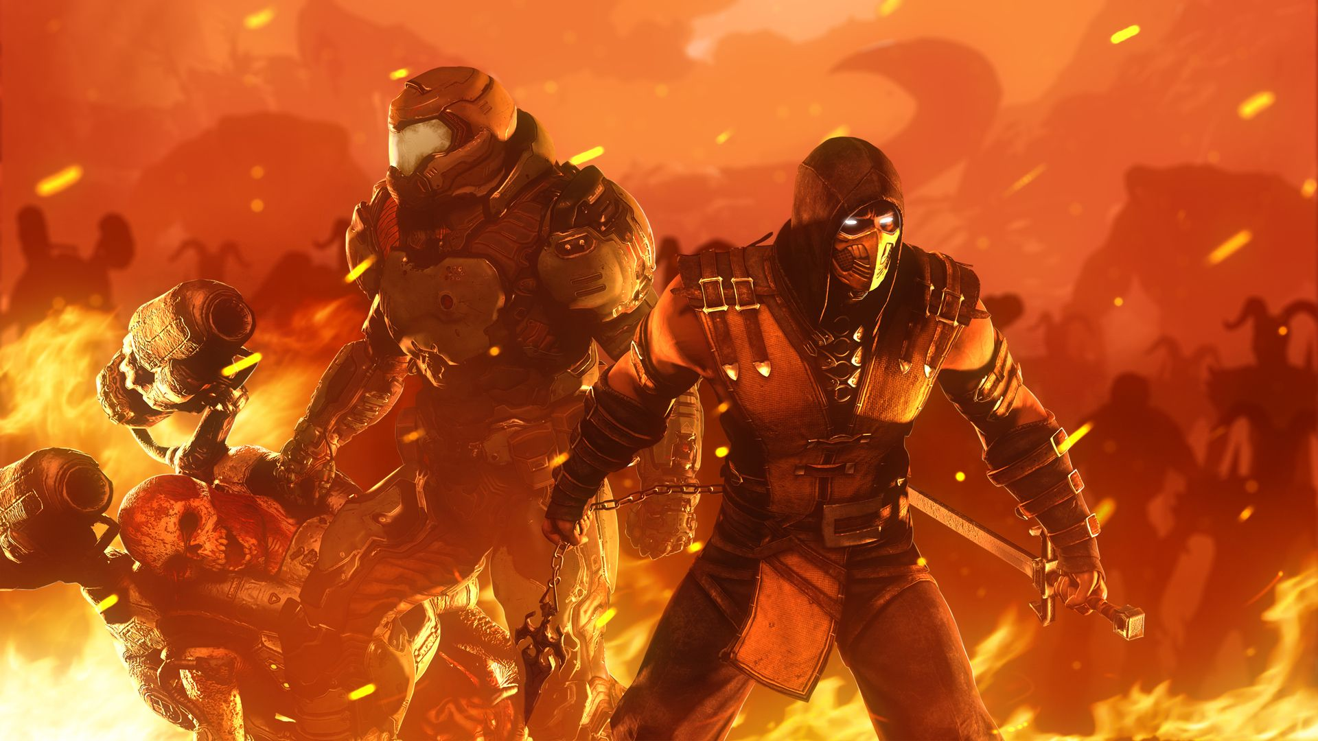 Doom Slayer Wallpapers Top Free Doom Slayer Backgrounds