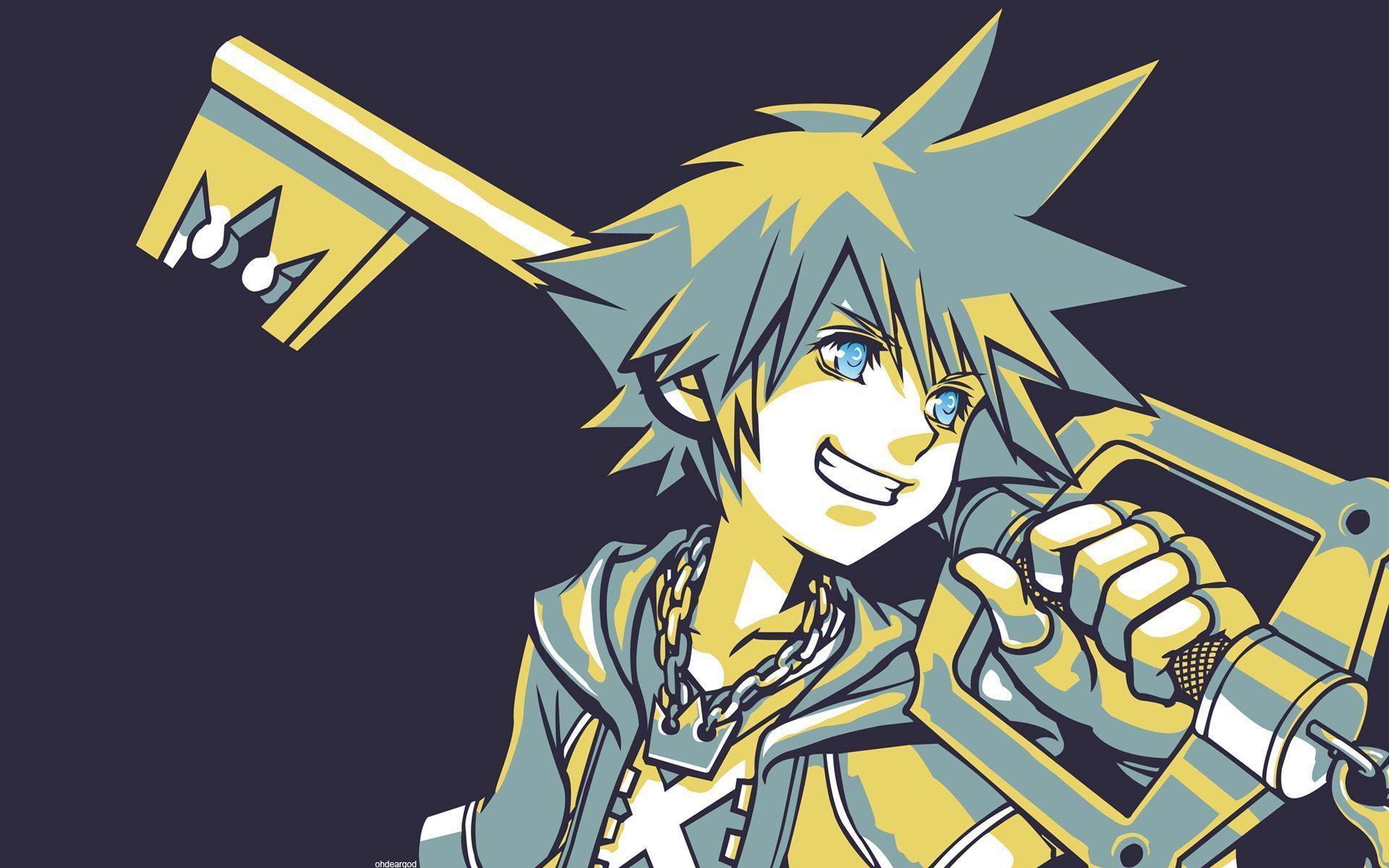 Kingdom Hearts Sora Wallpapers Top Free Kingdom Hearts