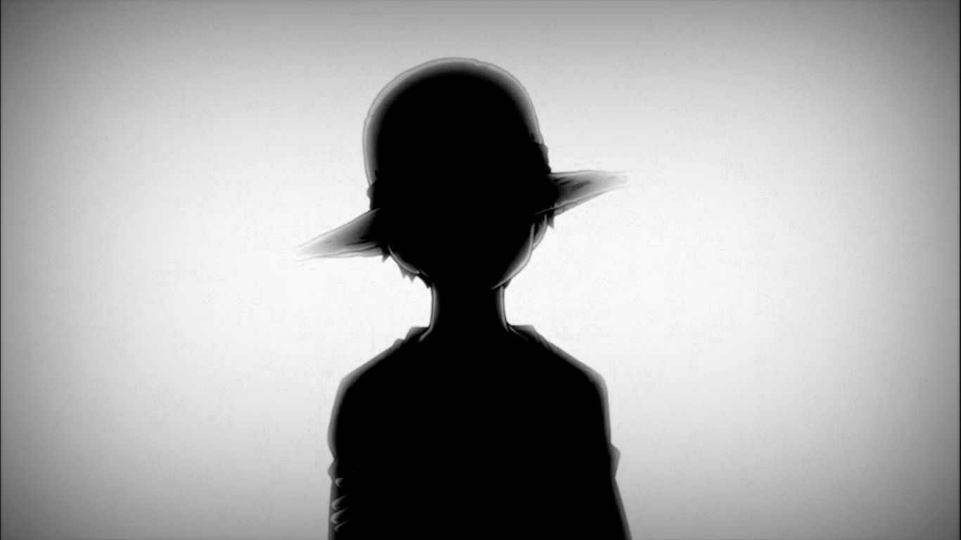 Luffy Black And White Wallpapers Top Free Luffy Black And