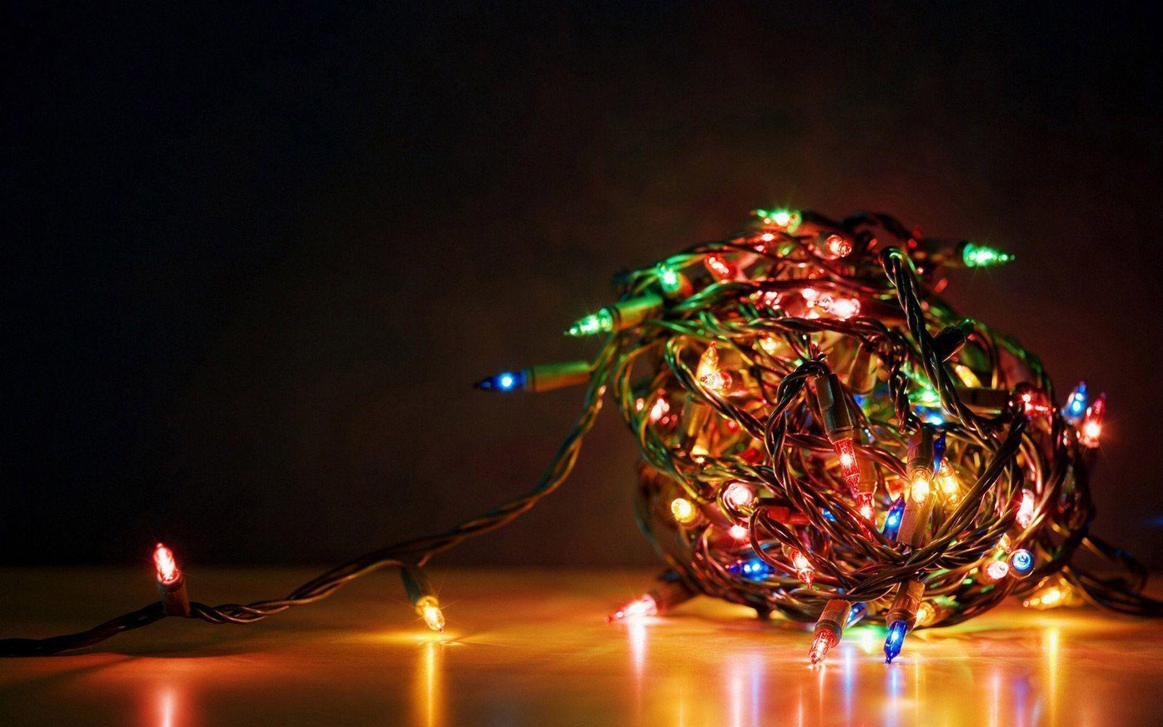 Christmas Desktop Pictures.Christmas Lights Desktop Wallpapers Top Free Christmas