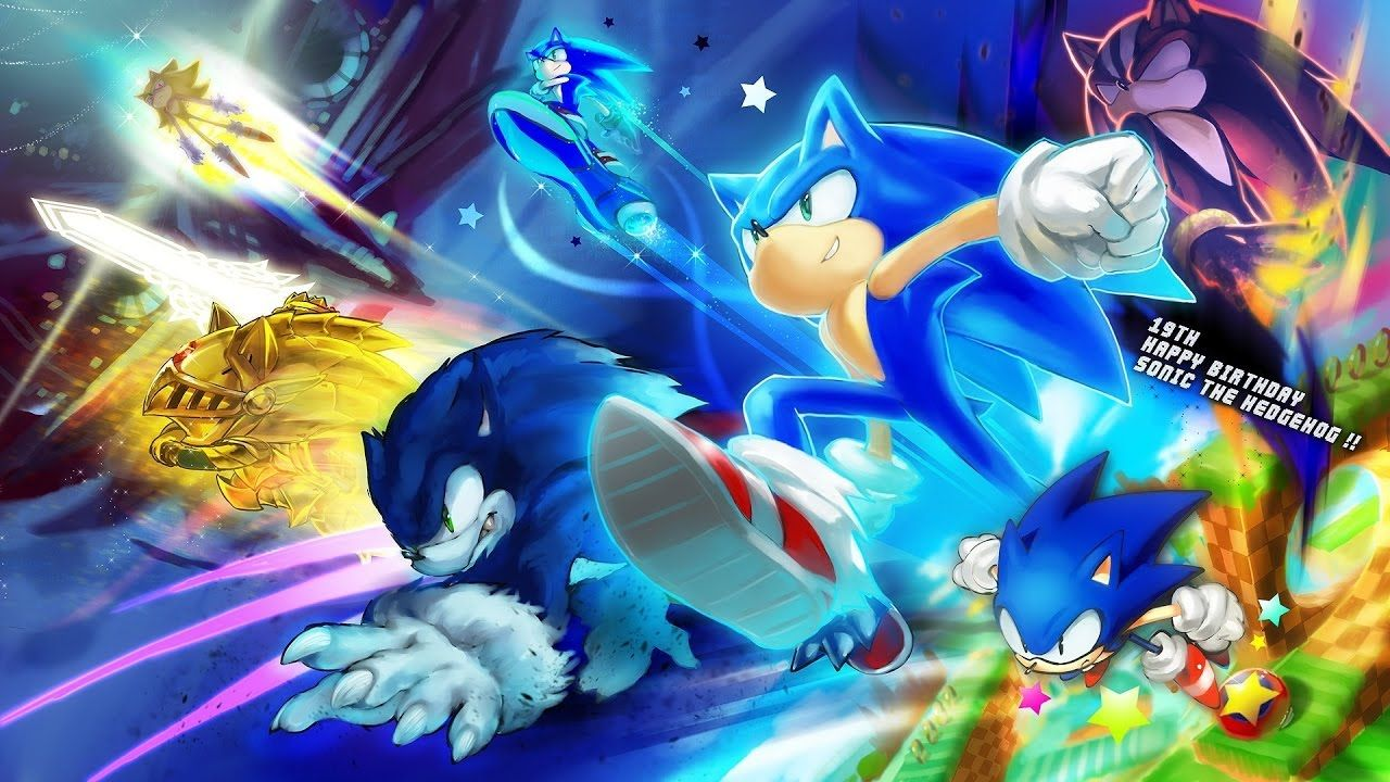 Sonic All Forms Wallpapers Top Free Sonic All Forms Backgrounds Wallpaperaccess