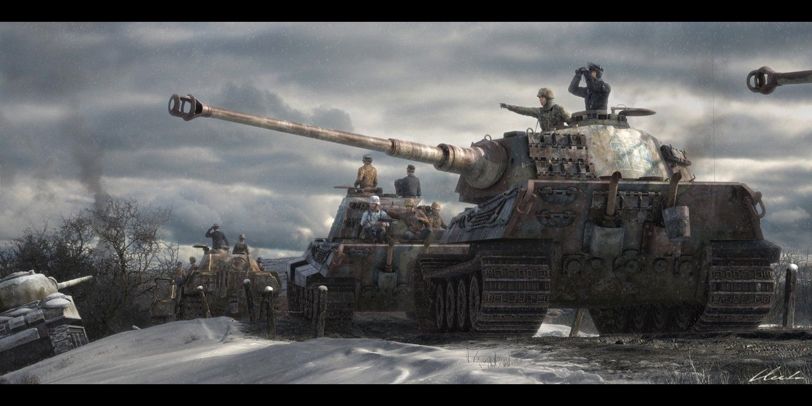 German WW2 Tank Wallpapers - Top Free