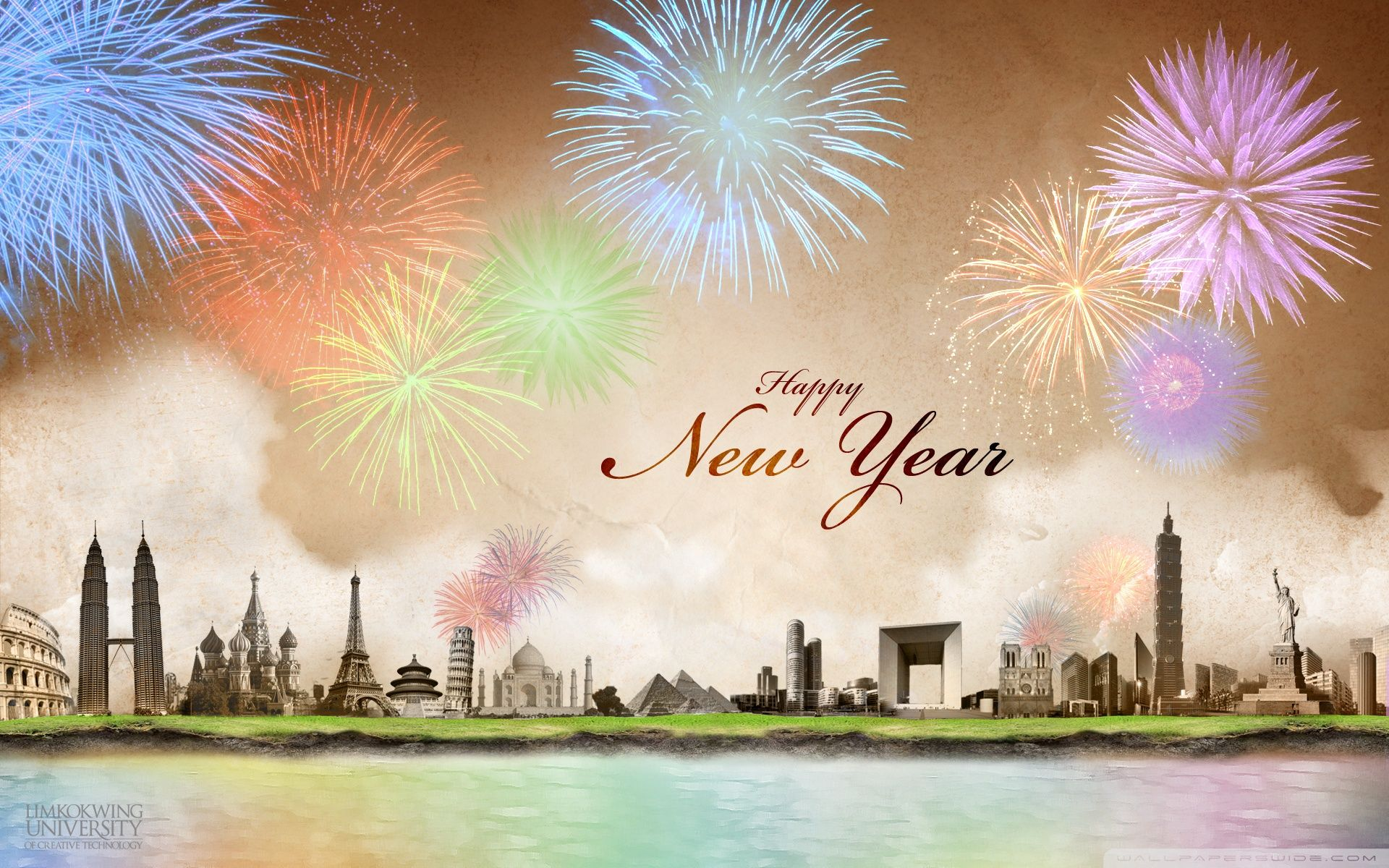 New Year Wallpapers - Top Free New Year Backgrounds - WallpaperAccess