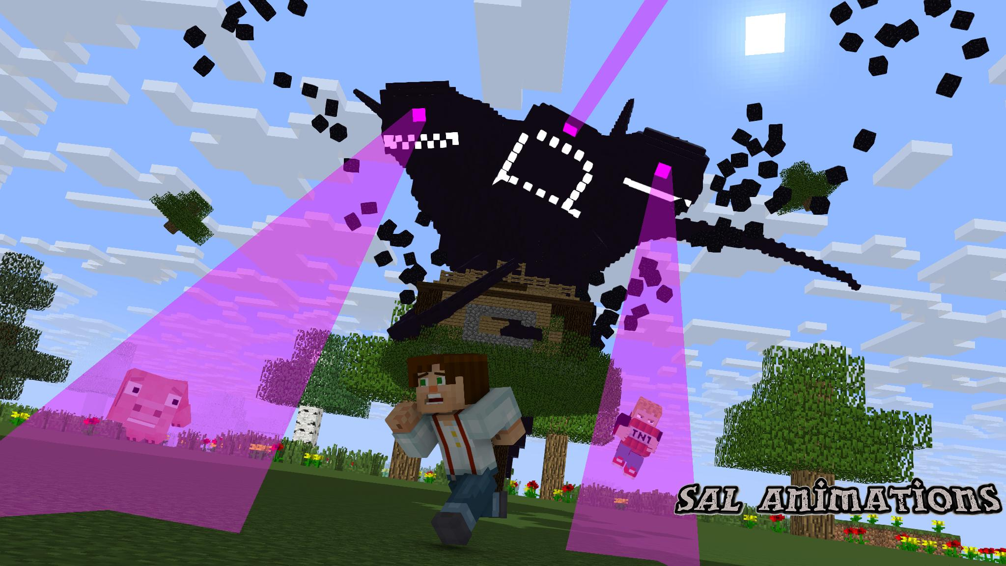 Minecraft Wither Wallpapers Top Free Minecraft Wither