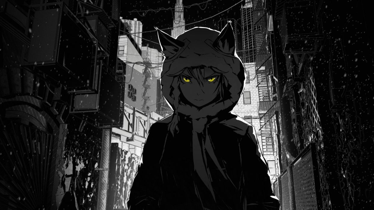 Grayscale Anime Wallpapers Top Free Grayscale Anime Backgrounds