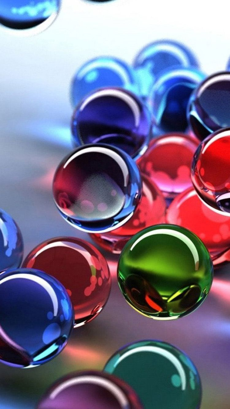 Marbles 3d Iphone 5 Wallpapers Top Free Marbles 3d Iphone