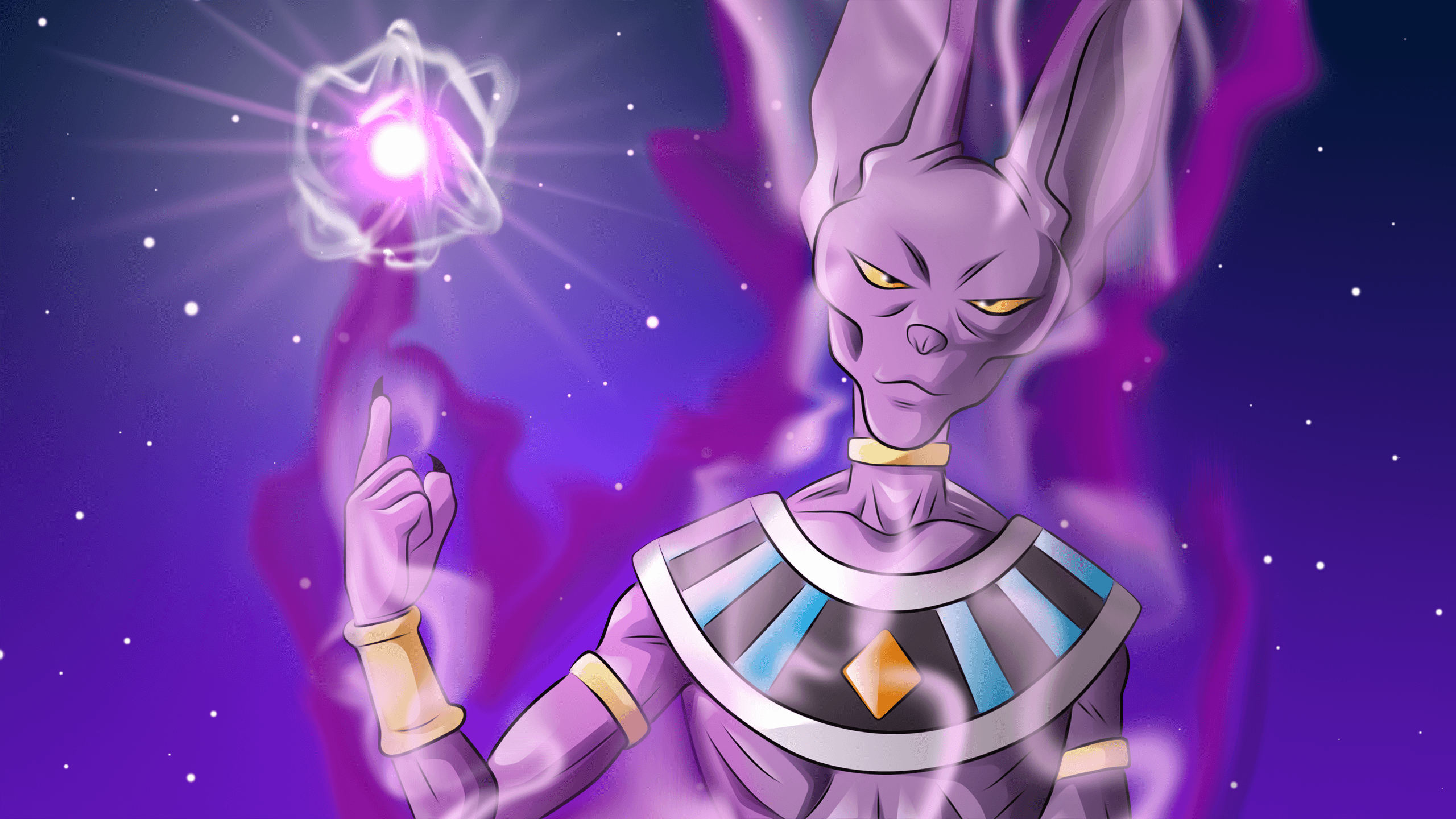 Beerus Wallpapers Top Free Beerus Backgrounds Wallpaperaccess