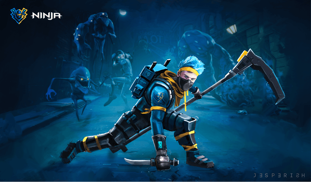 Fortnite Ninja Skin Wallpapers Top Free Fortnite Ninja Skin Backgrounds Wallpaperaccess