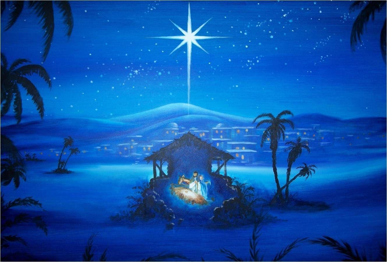 Vintage Christmas Nativity Wallpapers Top Free Vintage Christmas