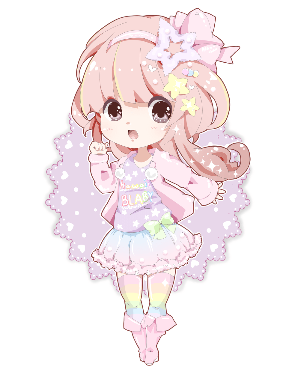 Kawaii Pastel Chibi Wallpapers