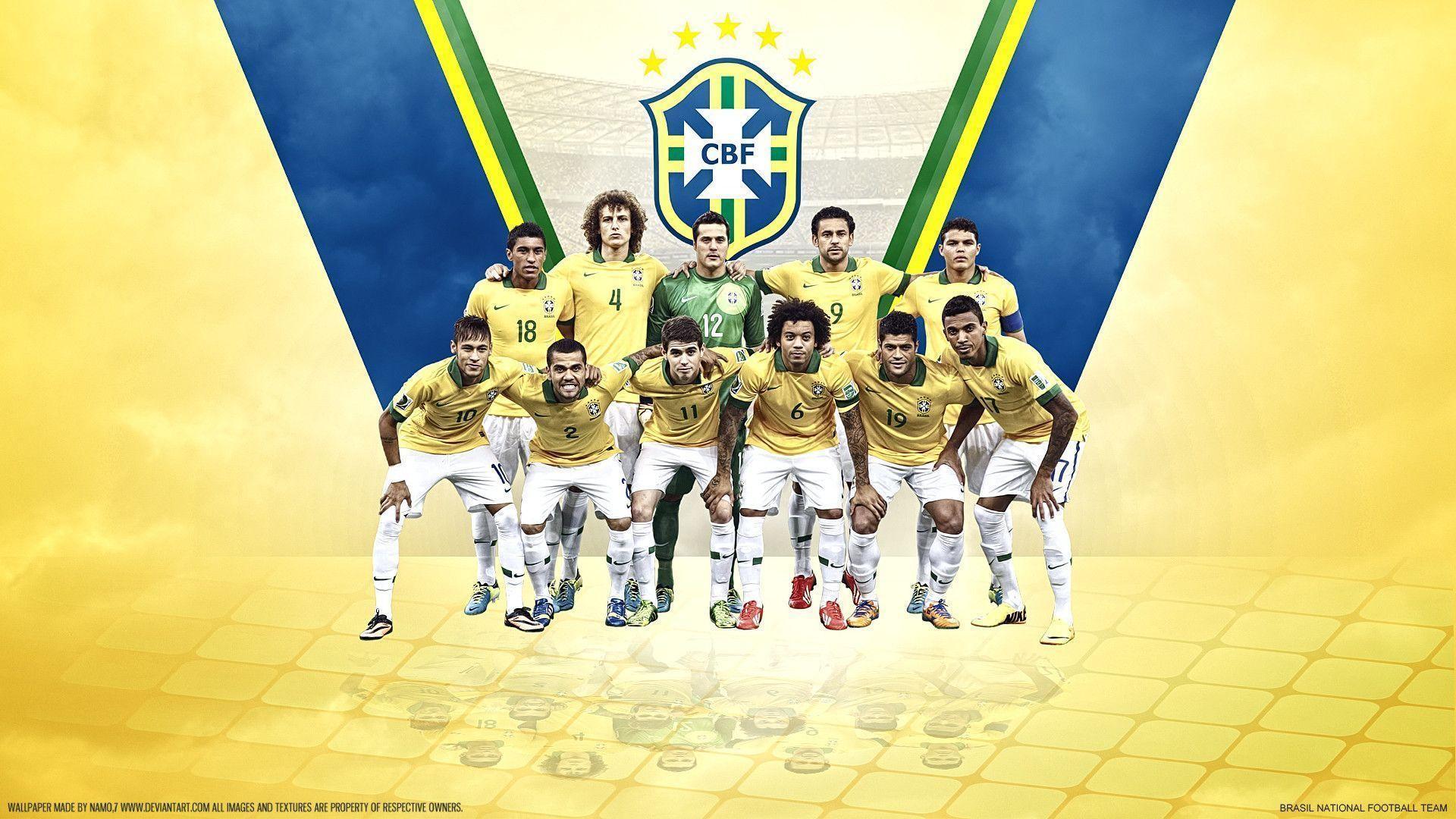 Amazing Brazil Soccer Wallpaper