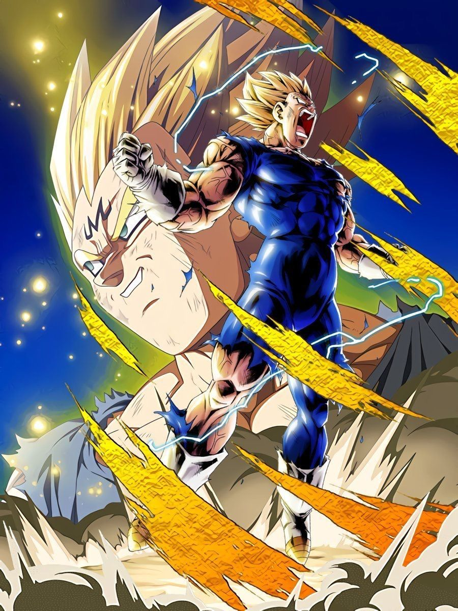 Majin vegeta wallpapers top free majin vegeta backgrounds wallpaperaccess - Dragon ball z majin vegeta wallpaper ...