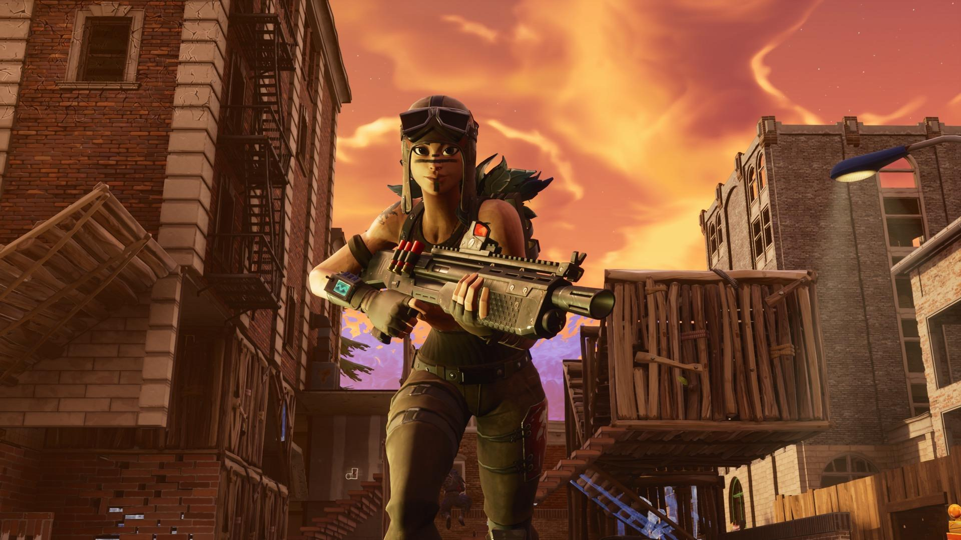 Fortnite Renegade Raider Wallpapers Top Free Fortnite Renegade Raider Backgrounds Wallpaperaccess