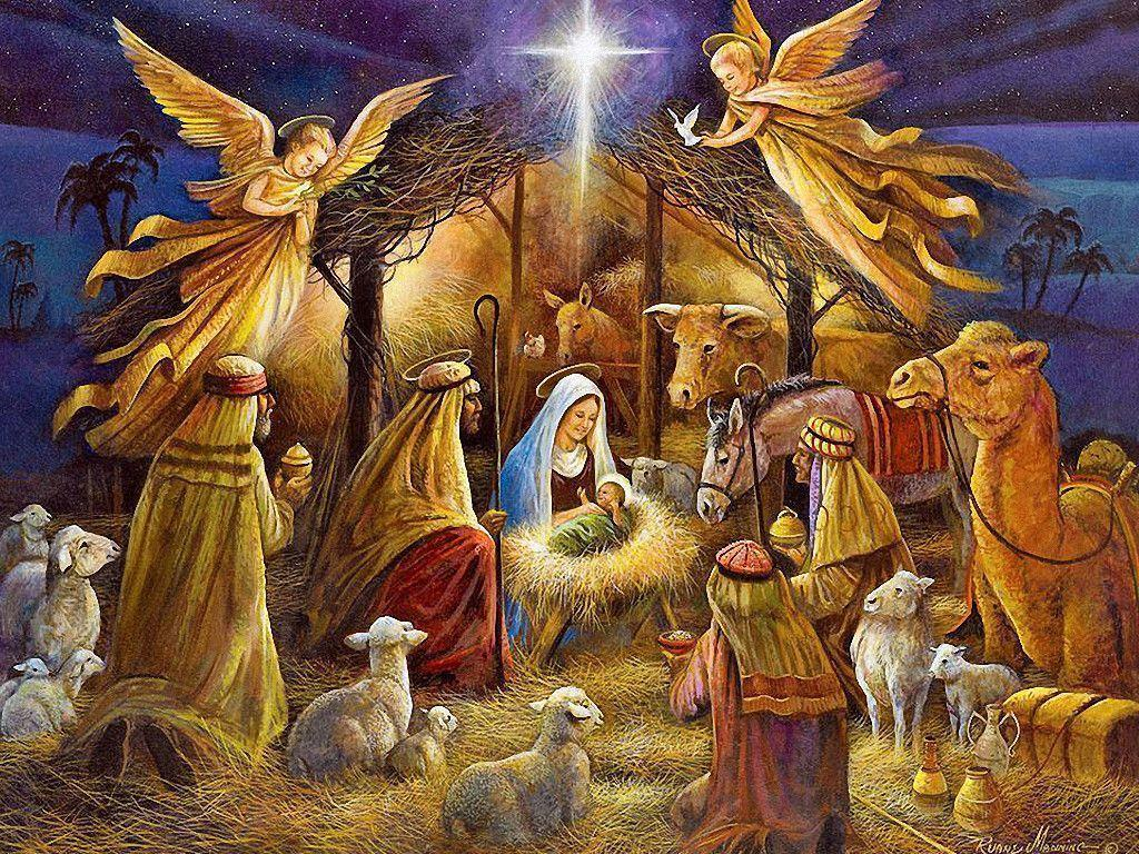 Christmas Crib Images Hd.Christmas Nativity Wallpapers Top Free Christmas Nativity