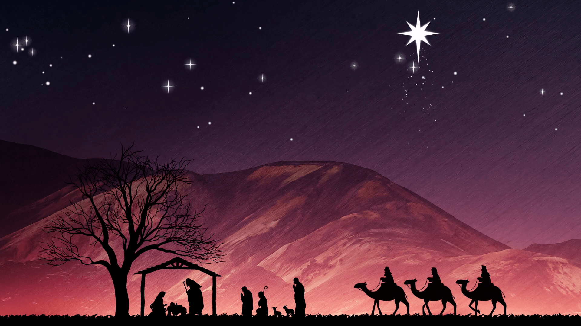 christmas nativity wallpapers