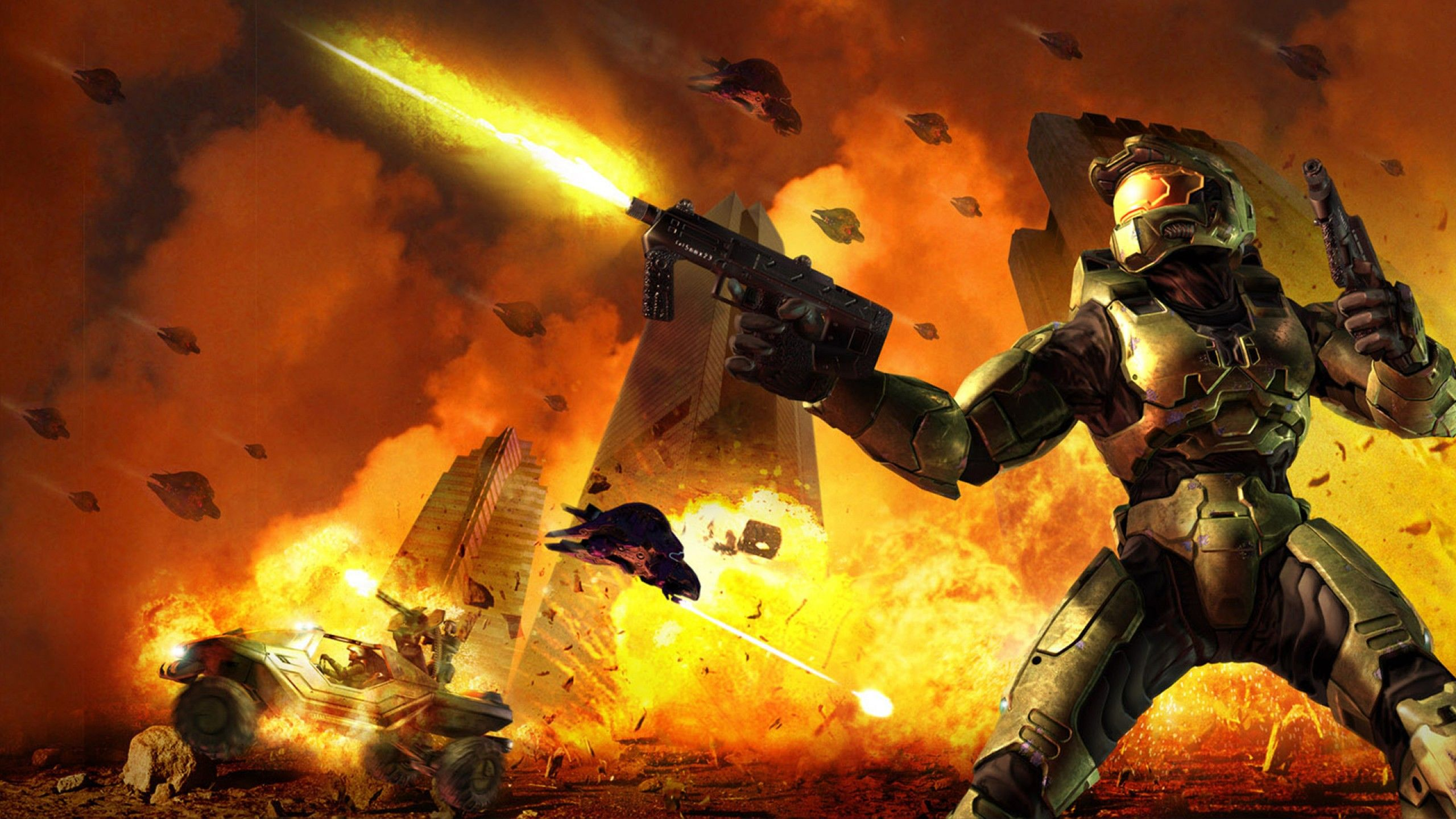 Halo 2 Wallpapers - Top Free Halo 2 Backgrounds - WallpaperAccess