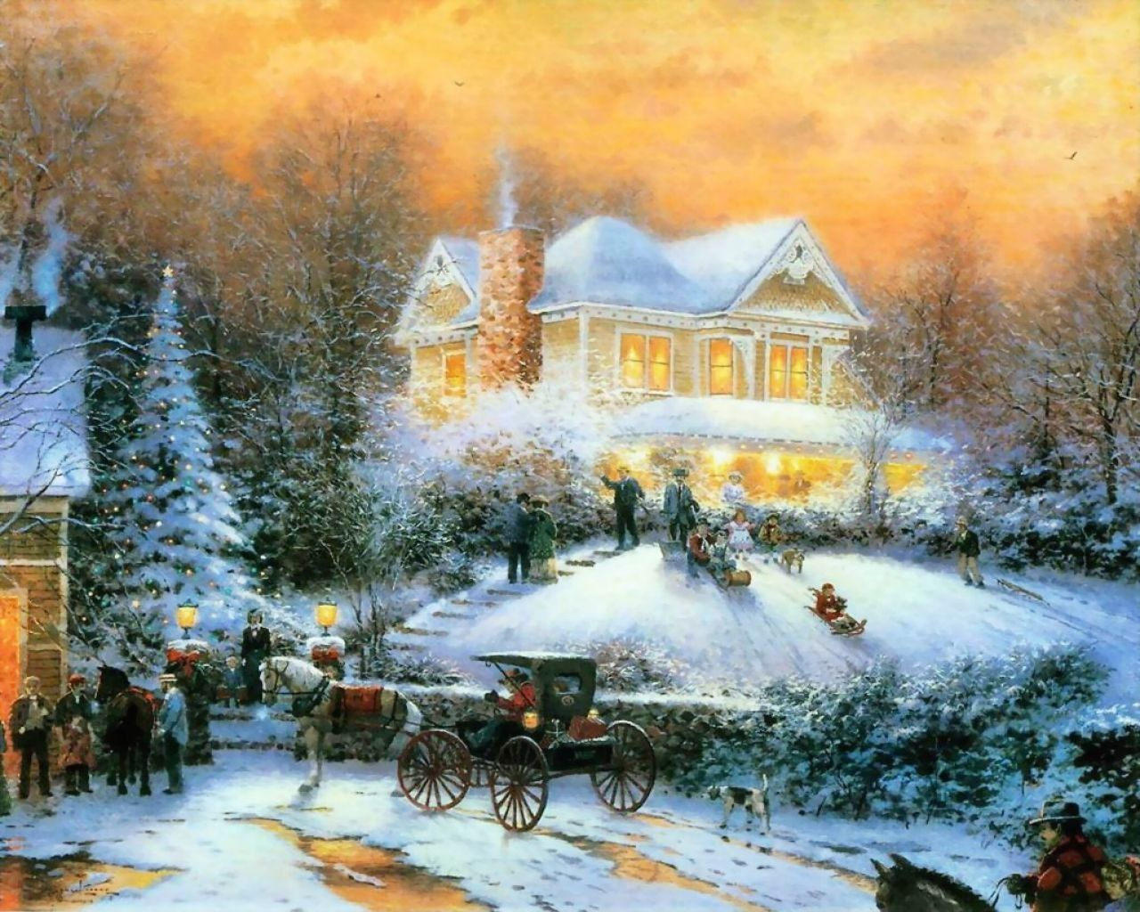 "1200x884 Free Thomas Kinkade Christmas Screensavers Fresh Thomas Kinkade ...""> Download"