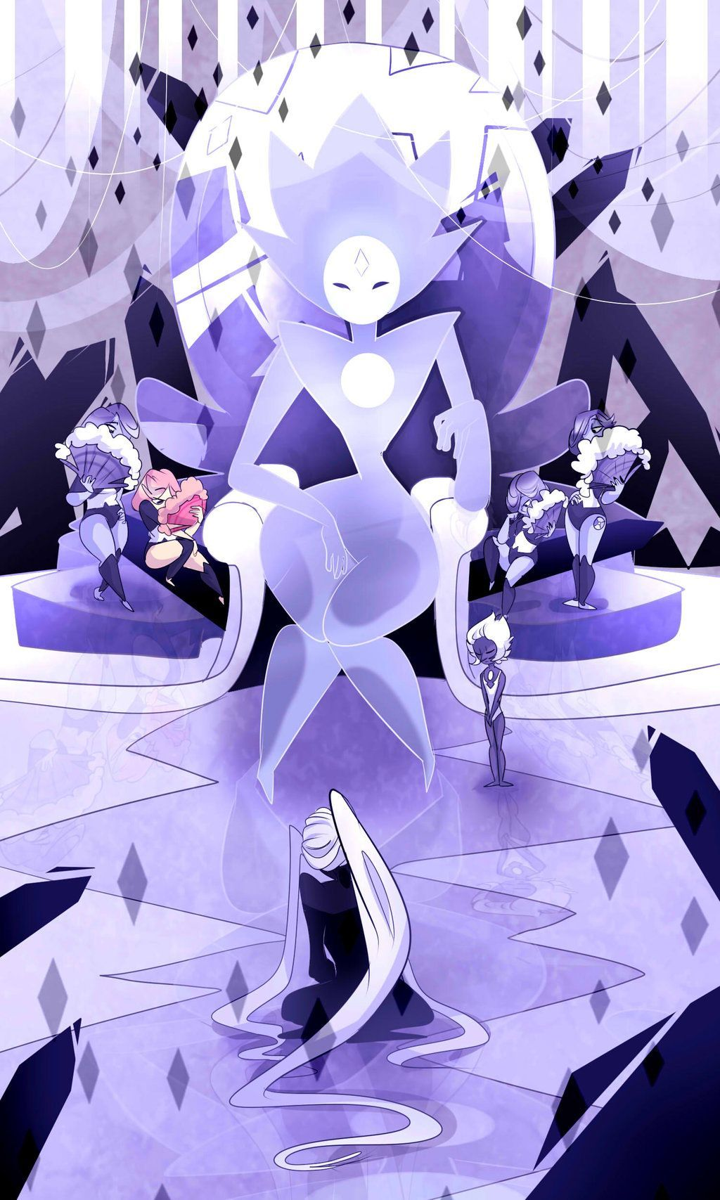 White Aesthetic Steven Universe Wallpapers Top Free White