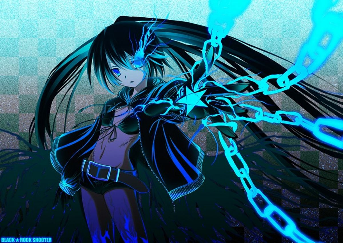Anime Black Rock Shooter Wallpapers Top Free Anime Black Rock