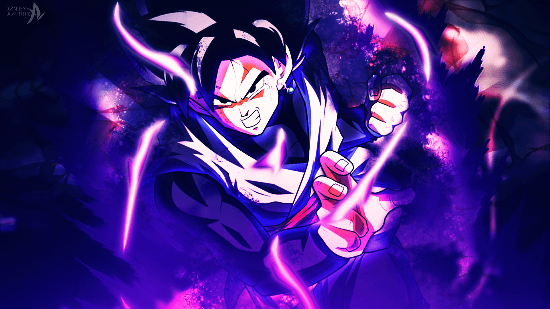 Goku Black Wallpapers Top Free Goku Black Backgrounds Wallpaperaccess