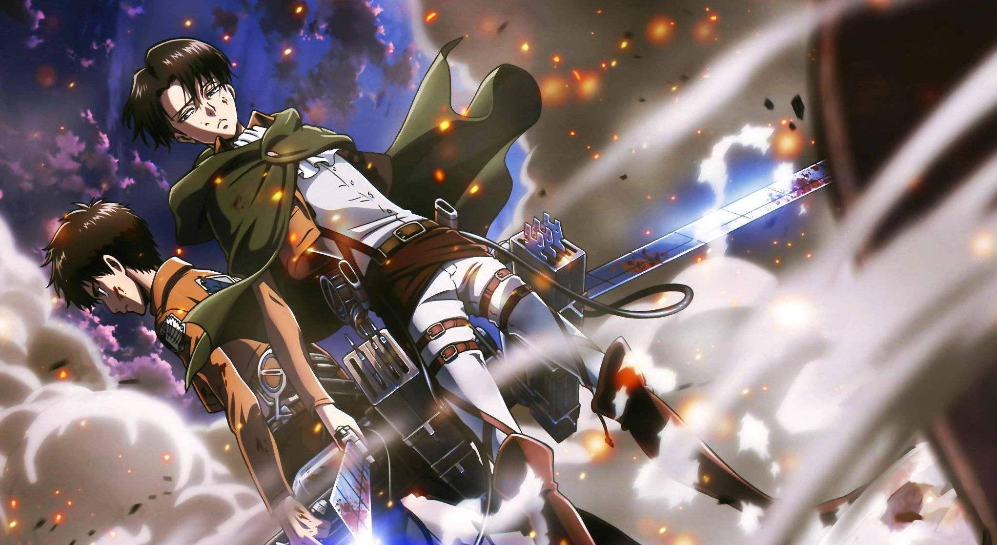 Levi Shingeki No Kyojin Wallpapers 4k Dowload Anime Wallpaper Hd