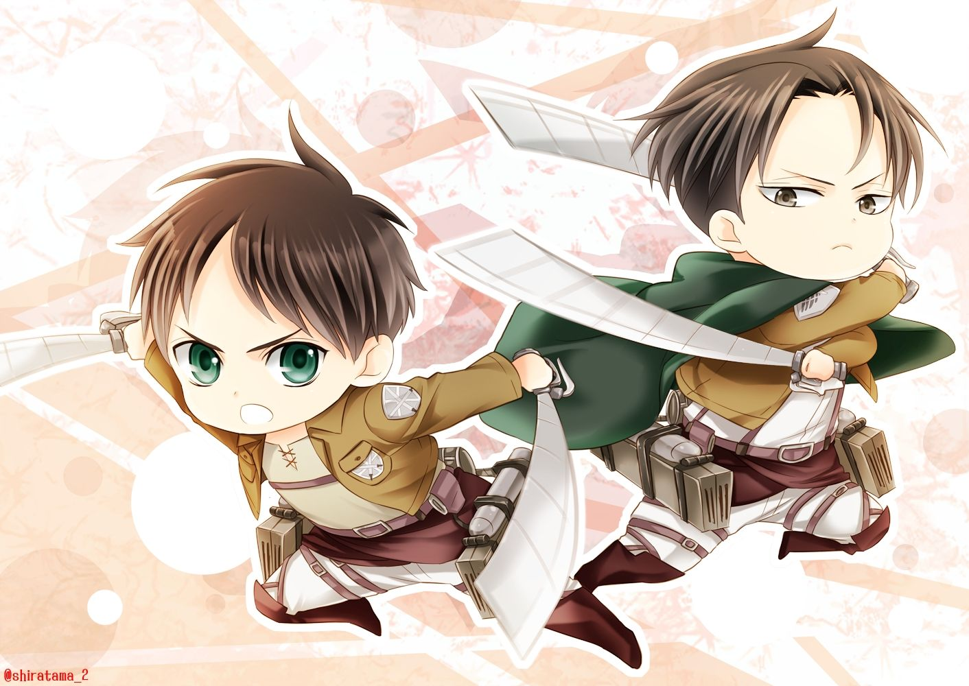 Eren And Levi Attack On Titan Wallpapers Top Free Eren And Levi Attack On Titan Backgrounds Wallpaperaccess