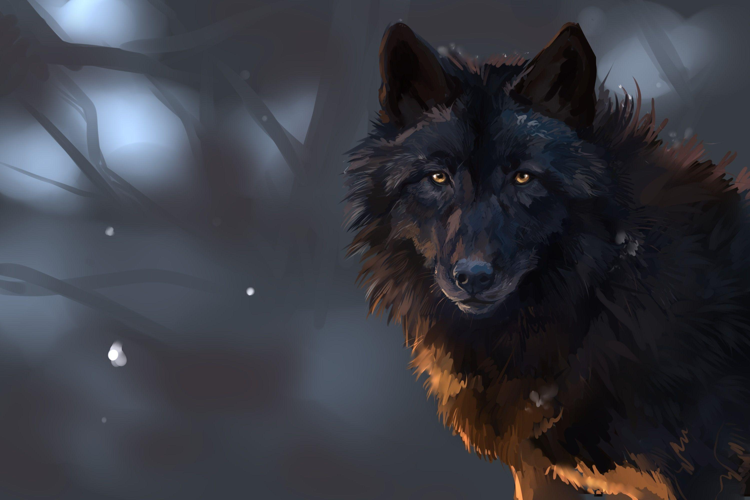 Dark Wolf Wallpapers - Top Free Dark