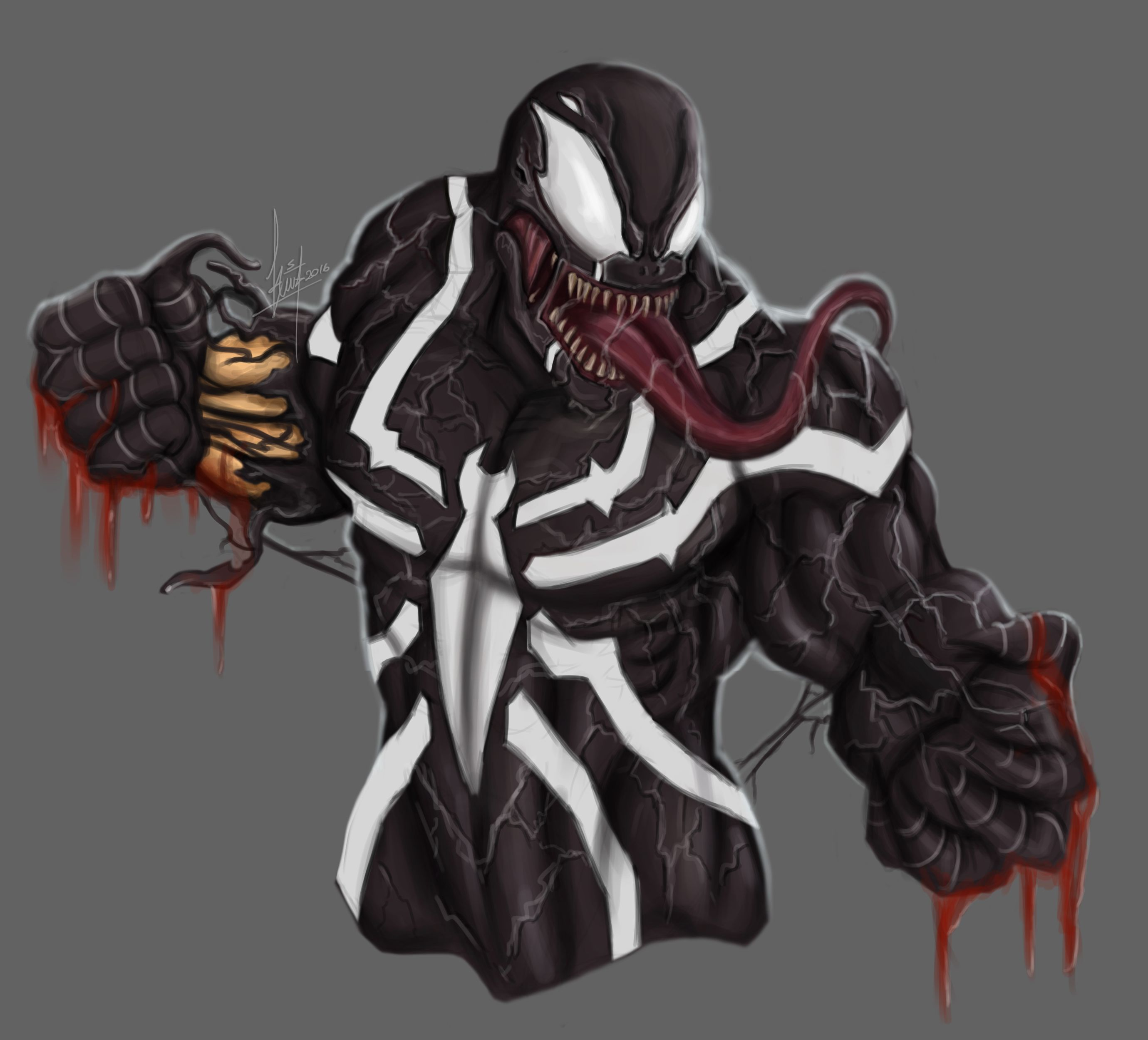 Venom Wallpapers: Top Free Symbiote Backgrounds