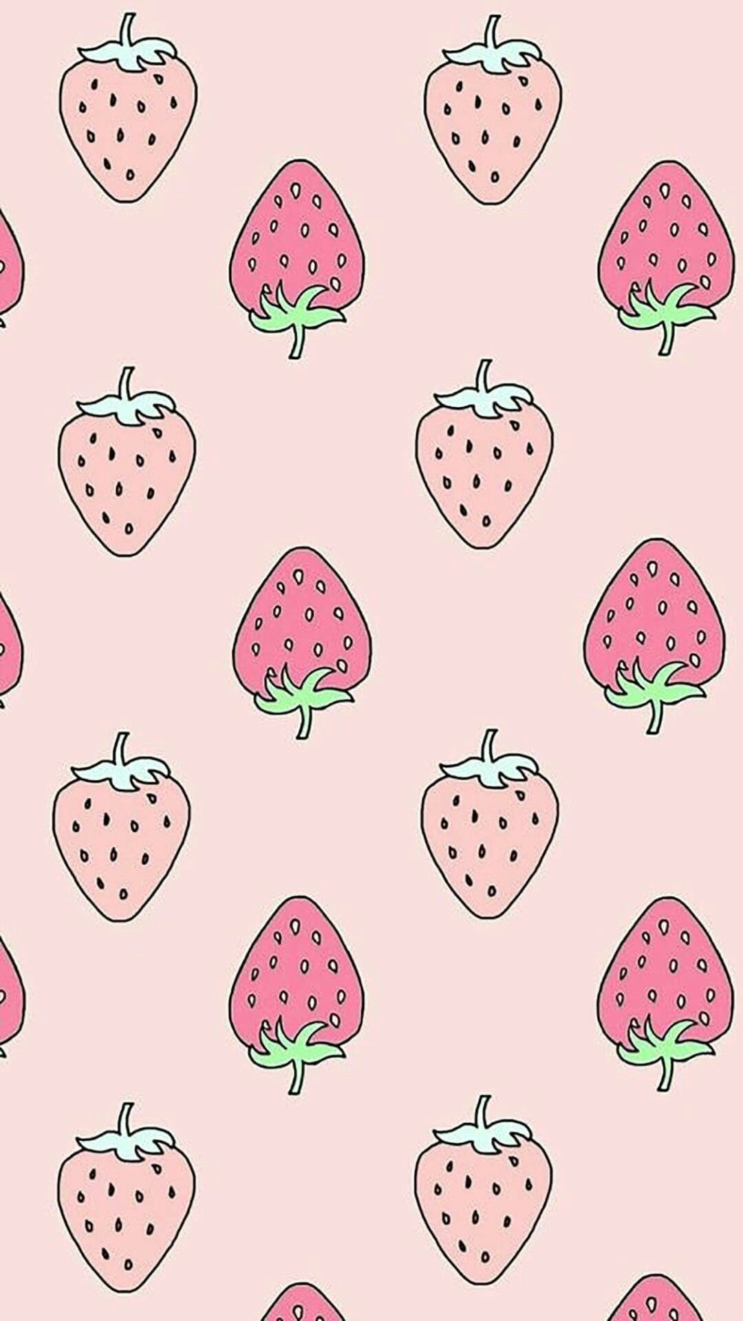 Cute Strawberry Wallpapers Top Free Cute Strawberry