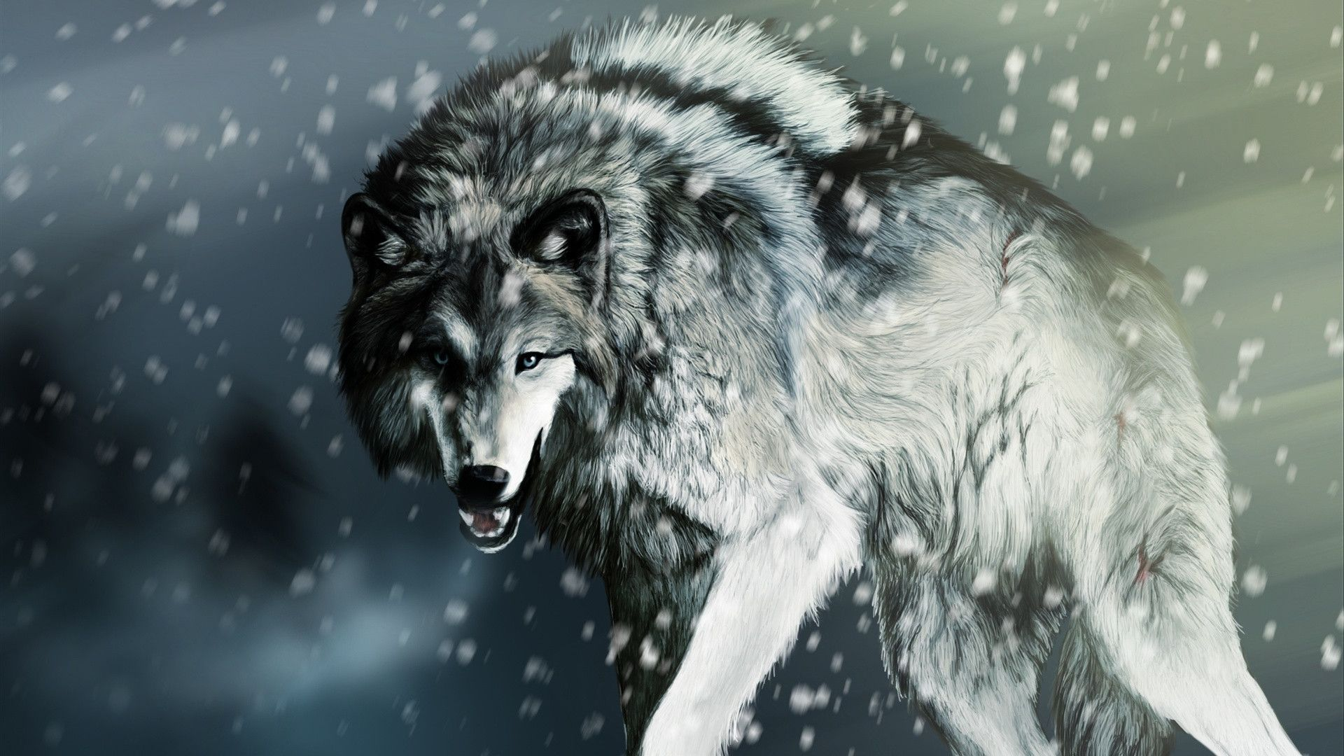 Epic Wolf Wallpapers Top Free Epic Wolf Backgrounds Wallpaperaccess