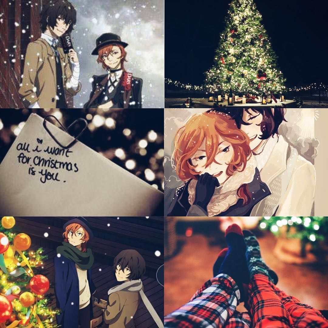 Christmas Anime Aesthetic Wallpapers , Top Free Christmas