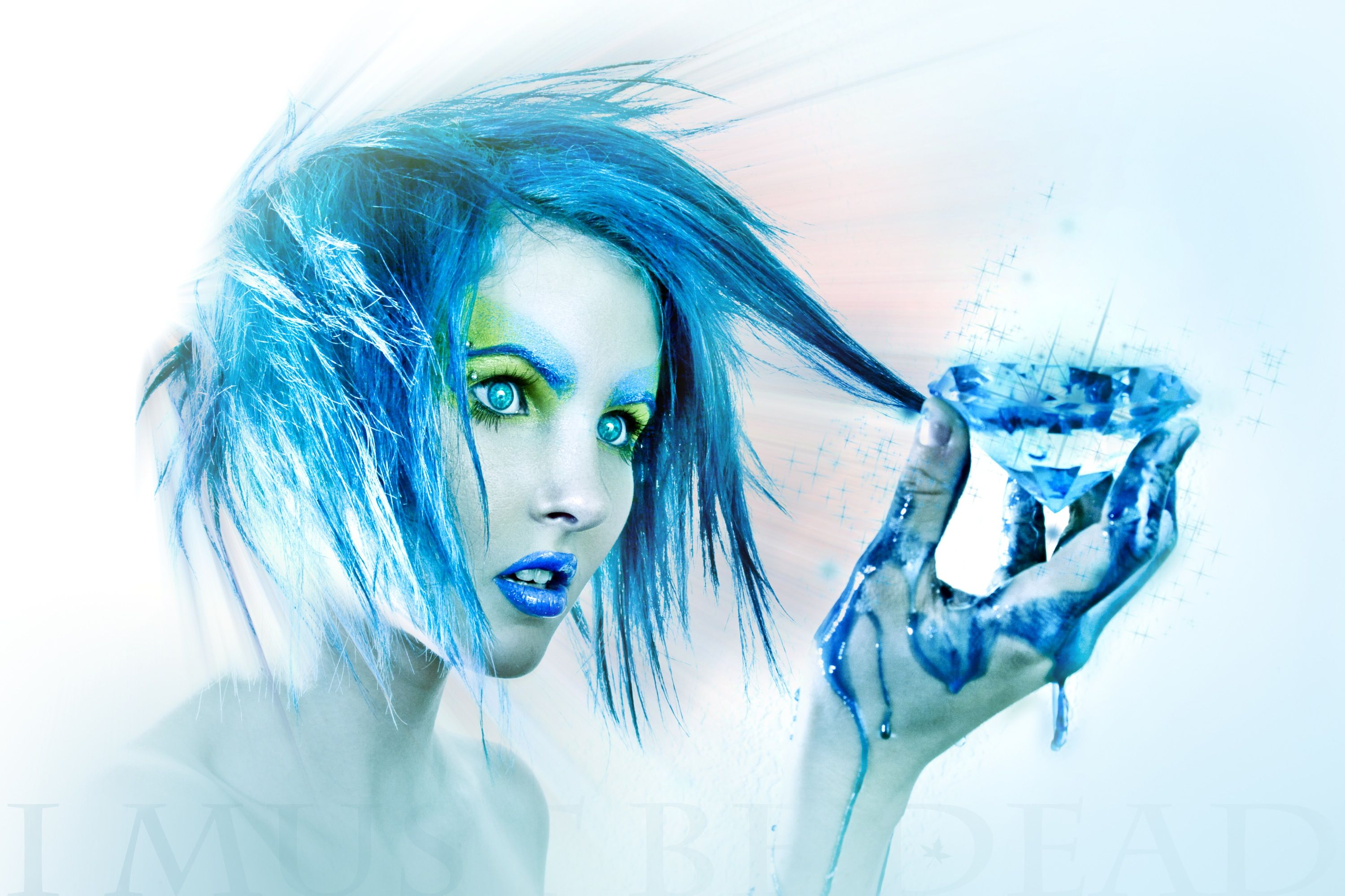 Blue Girl Wallpapers Top Free Blue Girl Backgrounds