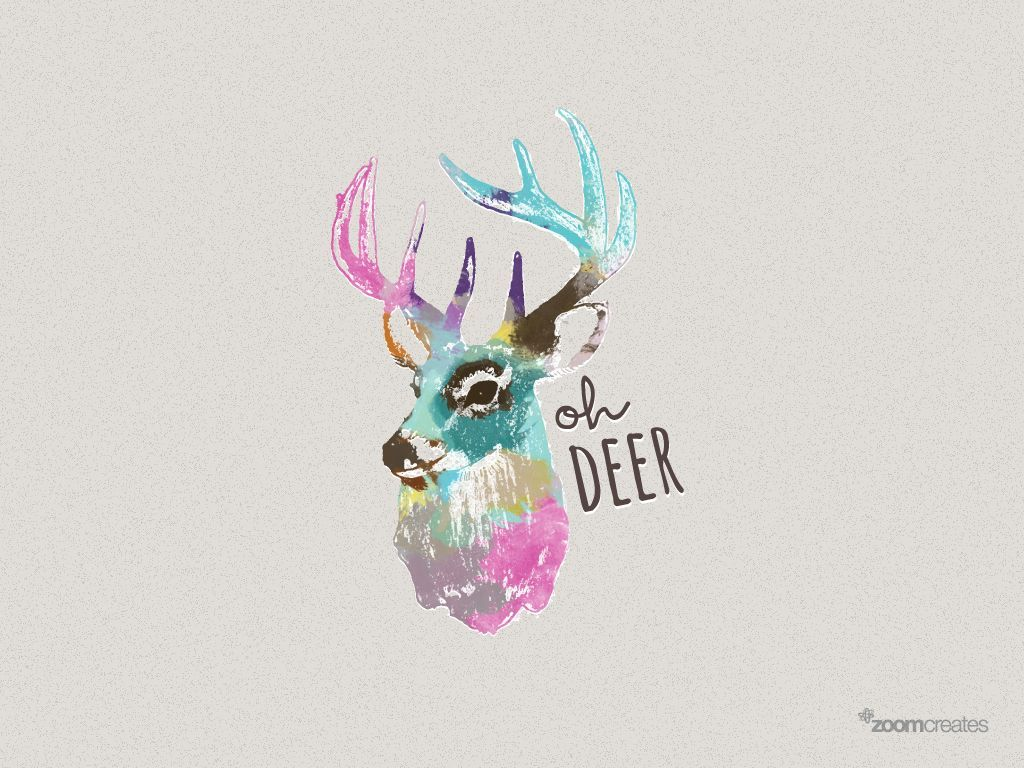 Girly Deer Wallpapers Top Free Girly Deer Backgrounds Wallpaperaccess