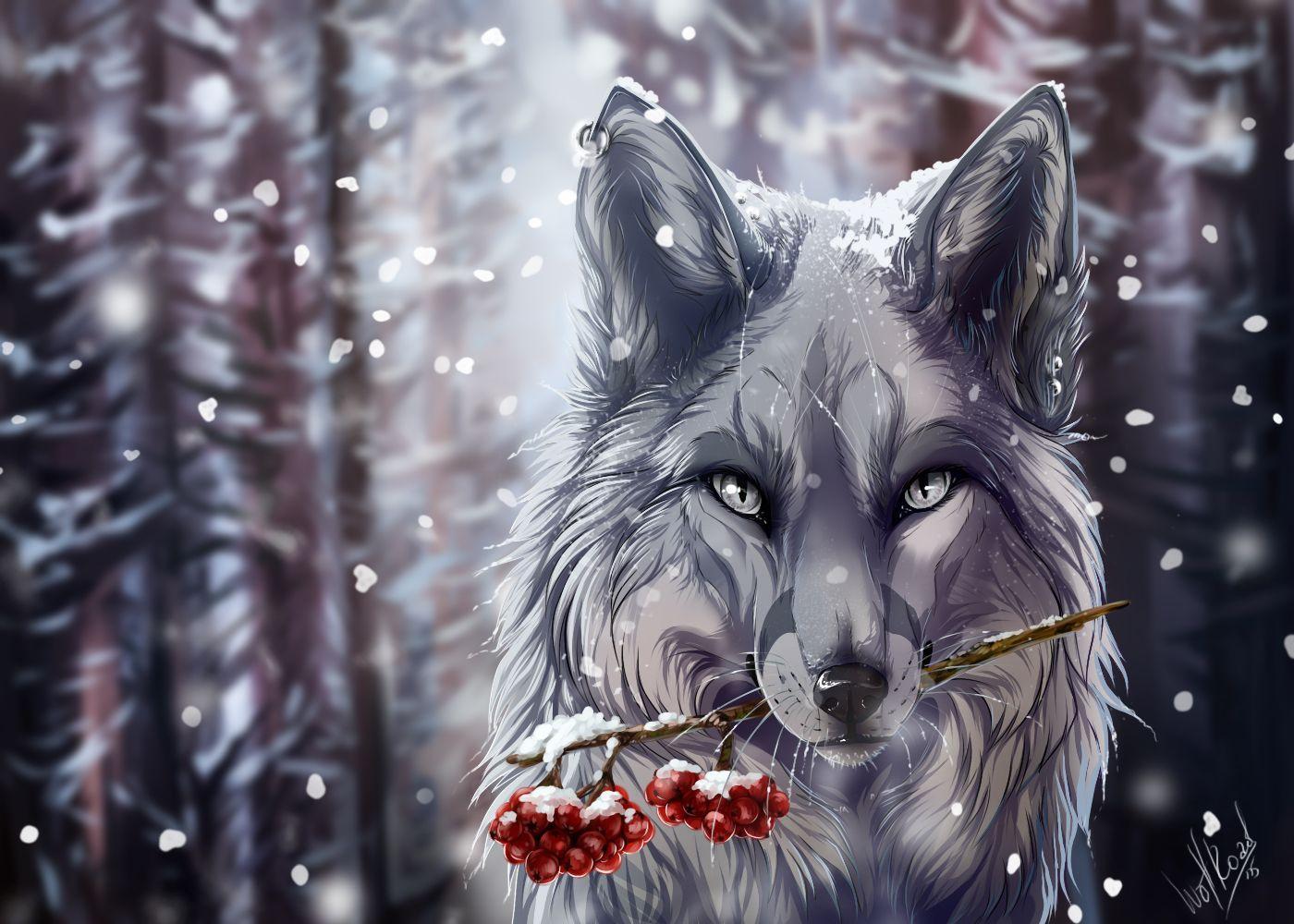 Hình nền chó sói 1400x1000 19 - 1400 X 1000