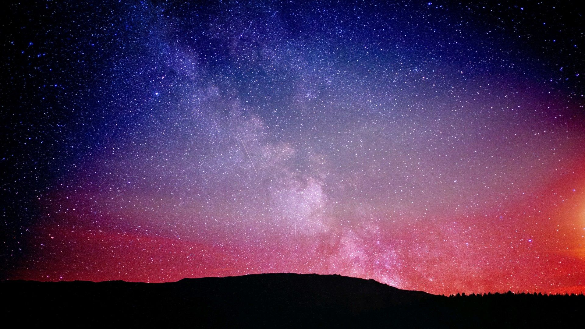 Night Sky 1920x1080 Wallpapers Top Free Night Sky