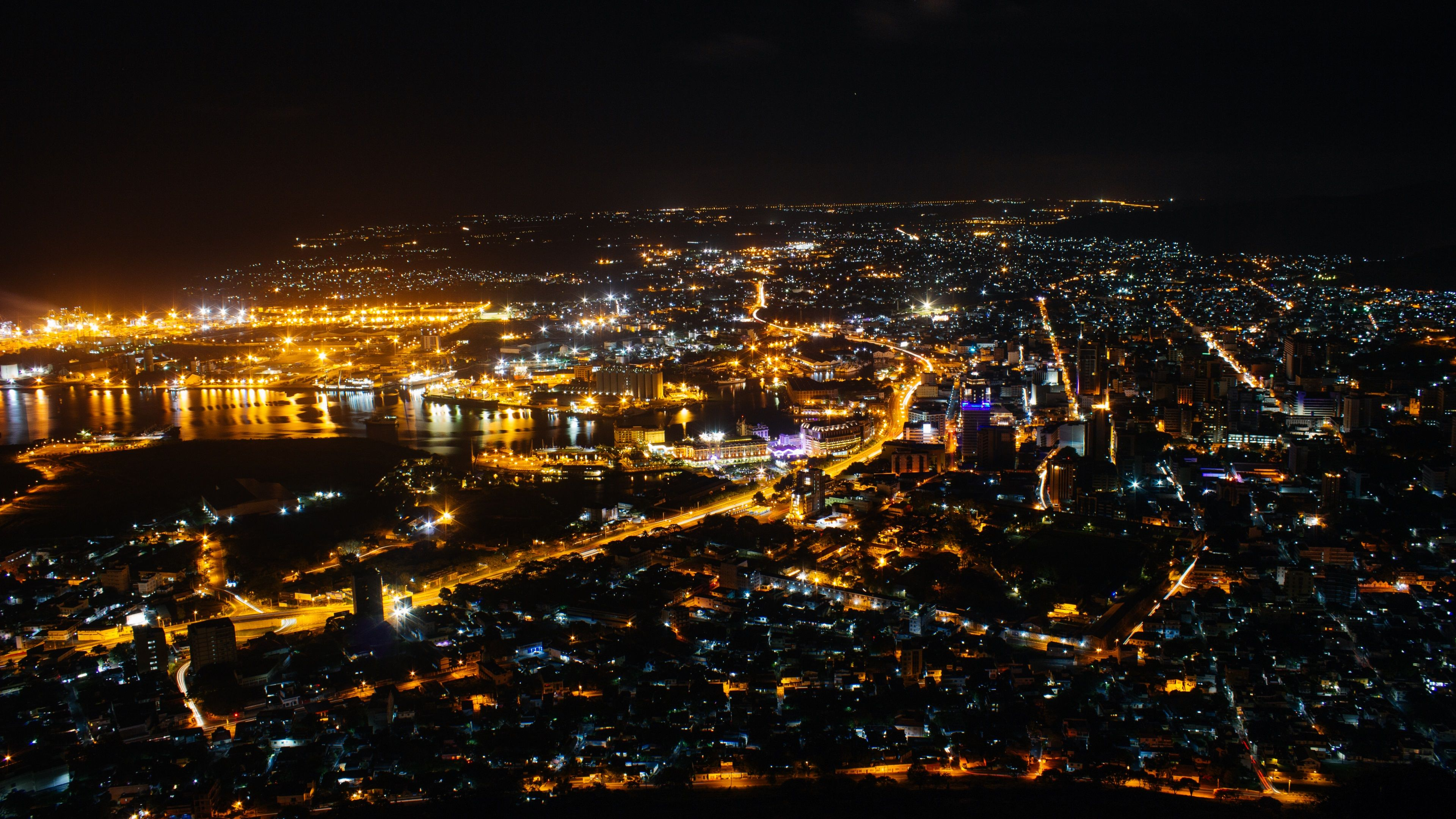 City Night Sky Wallpapers - Top Free City Night Sky