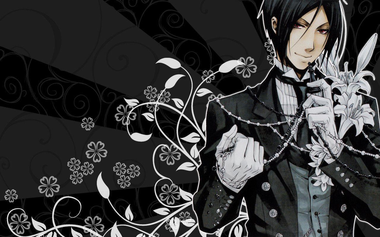 Black Butler Sebastian Wallpapers Top Free Black Butler