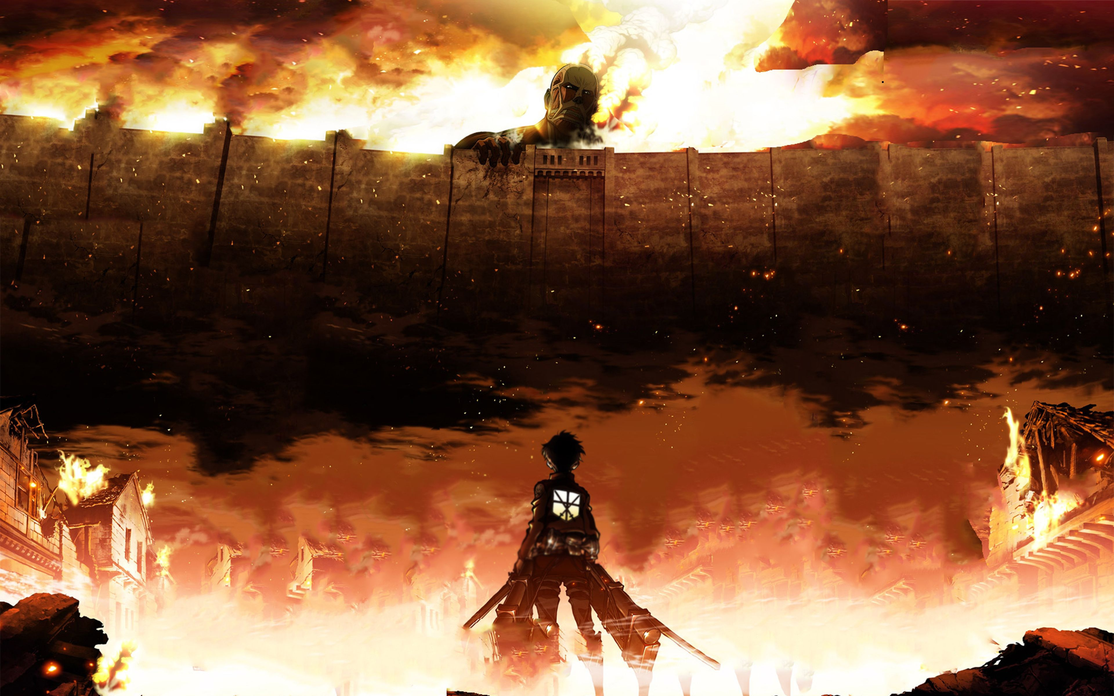 Manga Attack On Titan Wallpapers Top Free Manga Attack On Titan Backgrounds Wallpaperaccess
