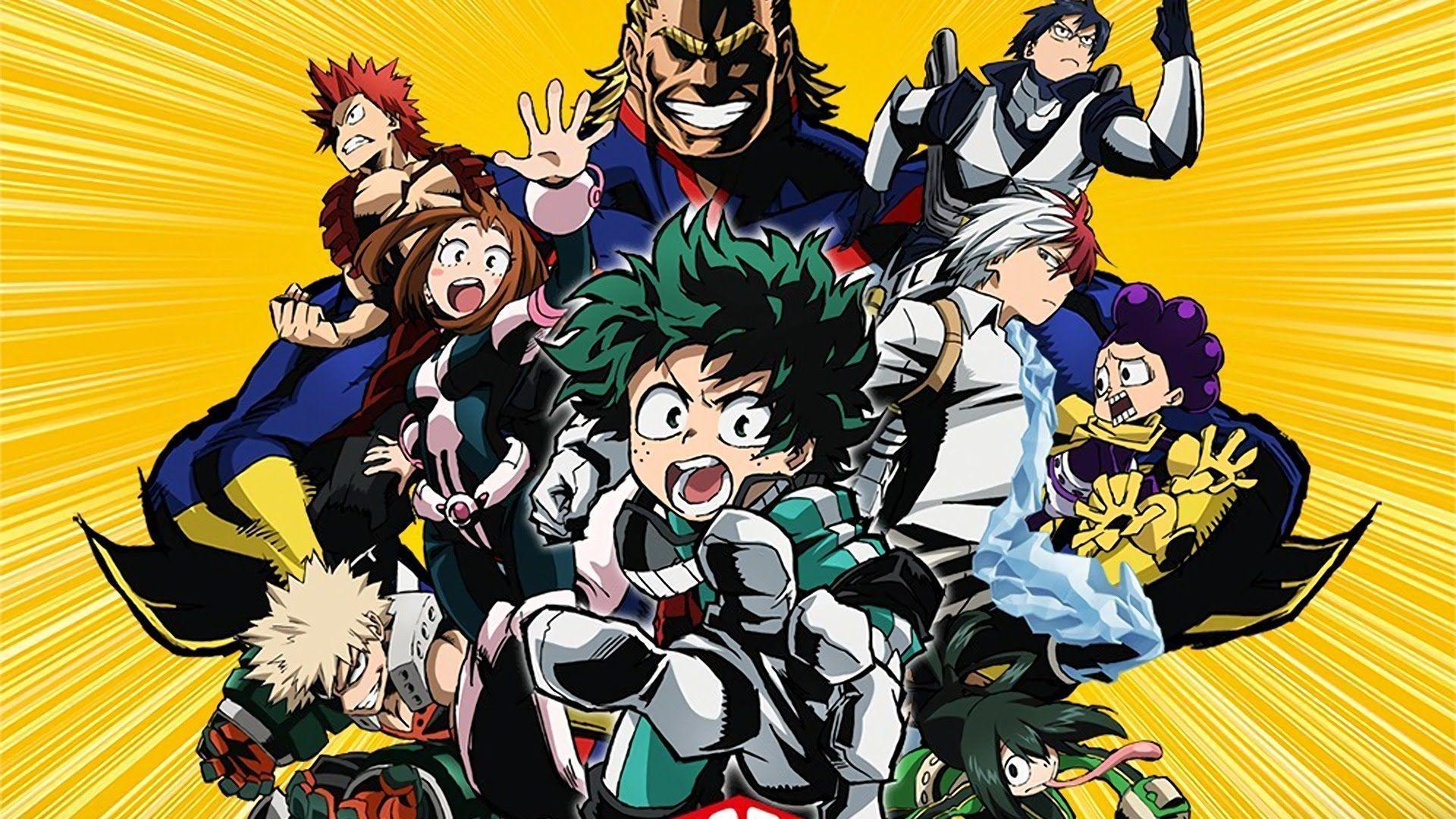 My Hero Academia Midoriya Vs Todoroki Live Wallpaper Youtube