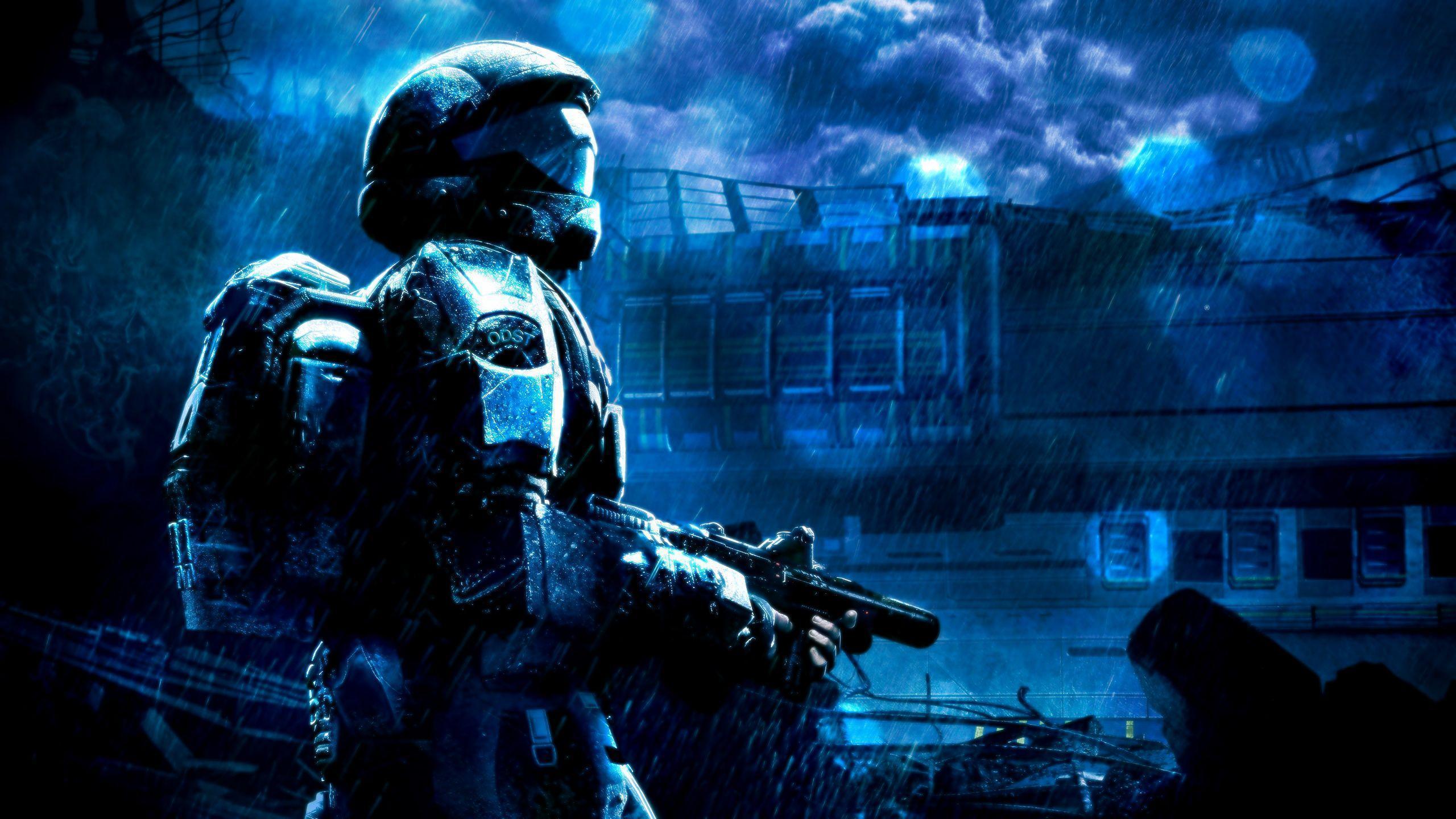 Halo Odst 4k Wallpapers Top Free Halo Odst 4k Backgrounds