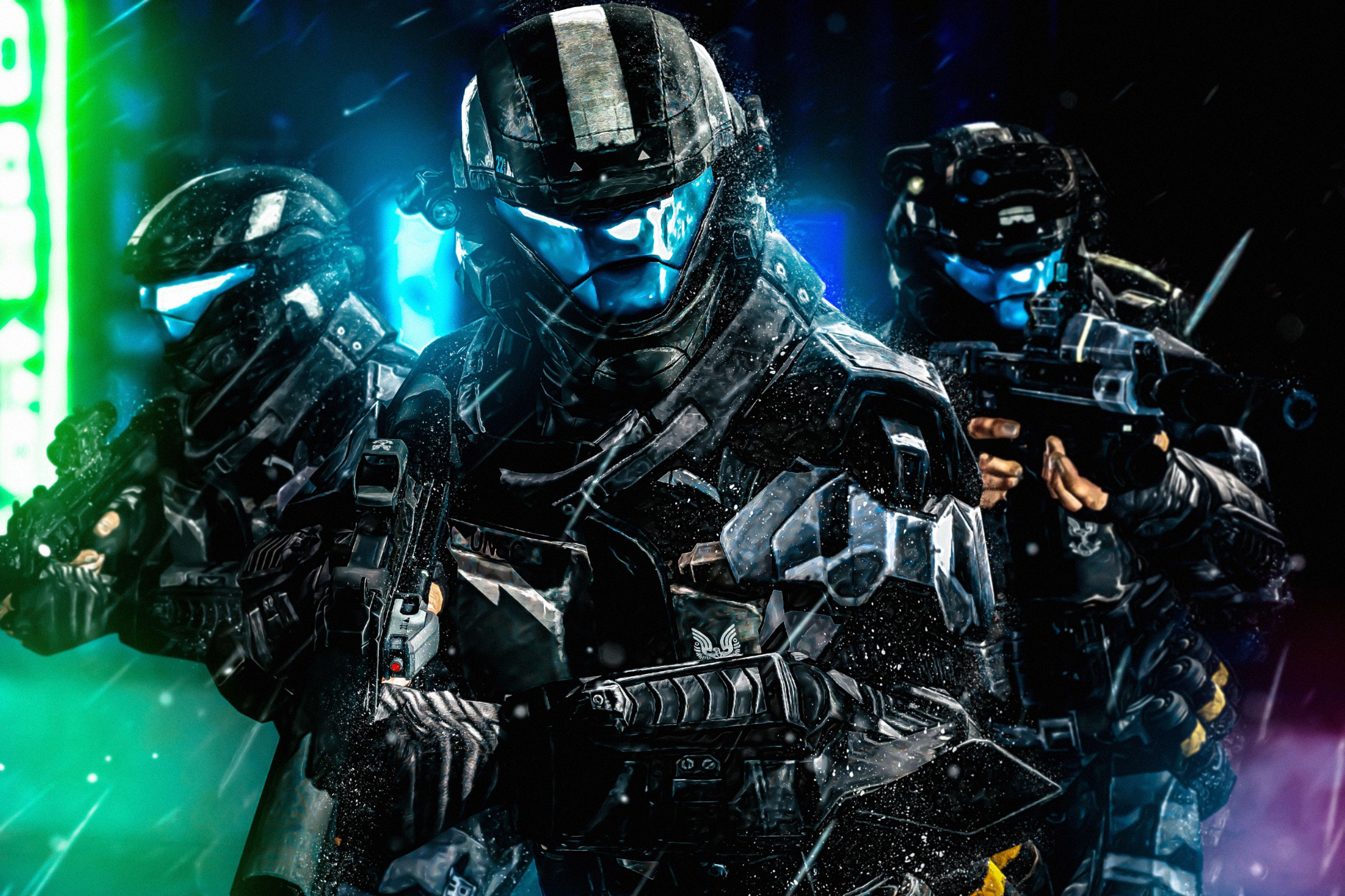 Halo 3 Odst Wallpapers Top Free Halo 3 Odst Backgrounds
