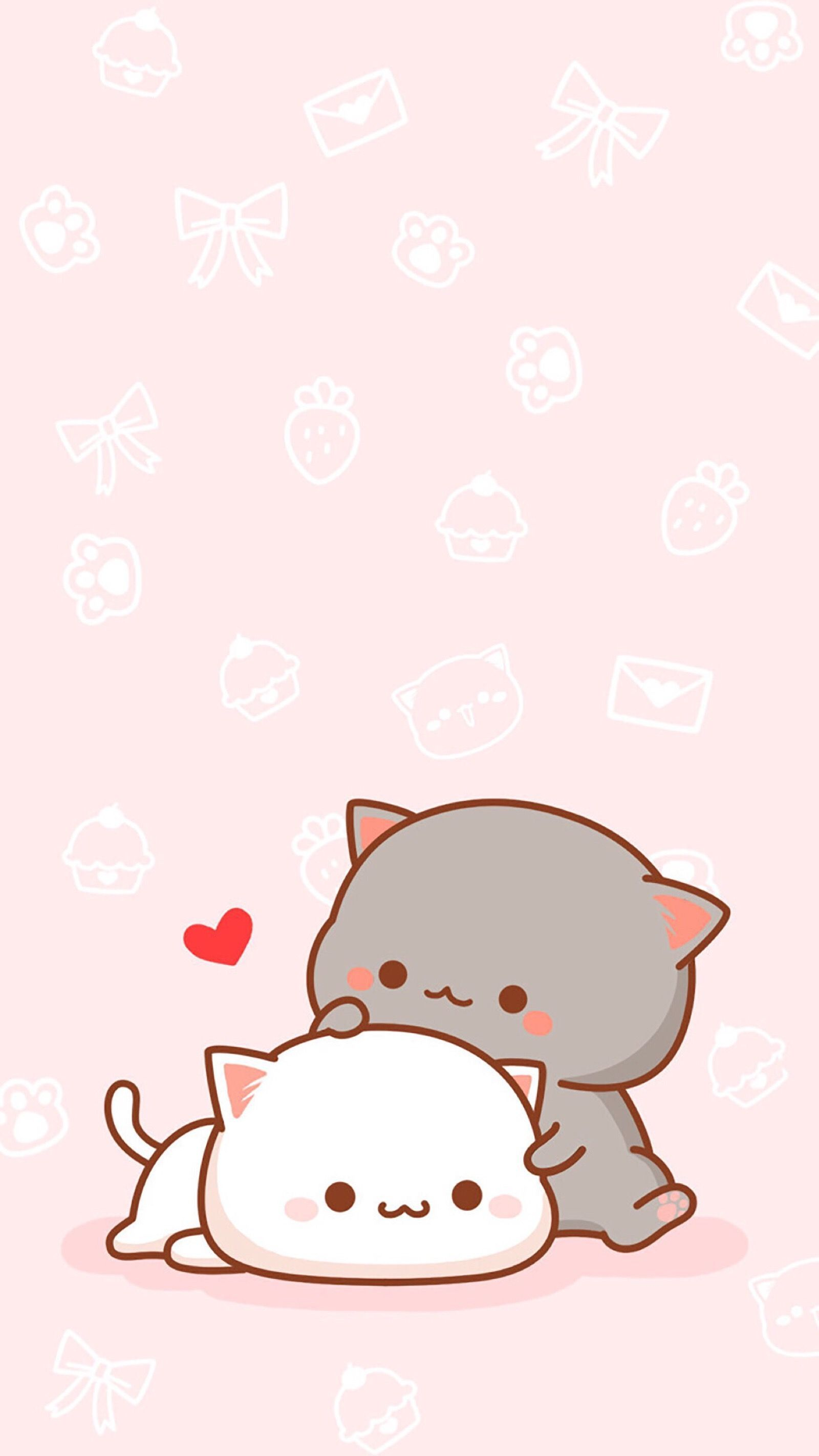 Cartoon Cat Iphone Wallpapers Top Free Cartoon Cat Iphone Backgrounds Wallpaperaccess