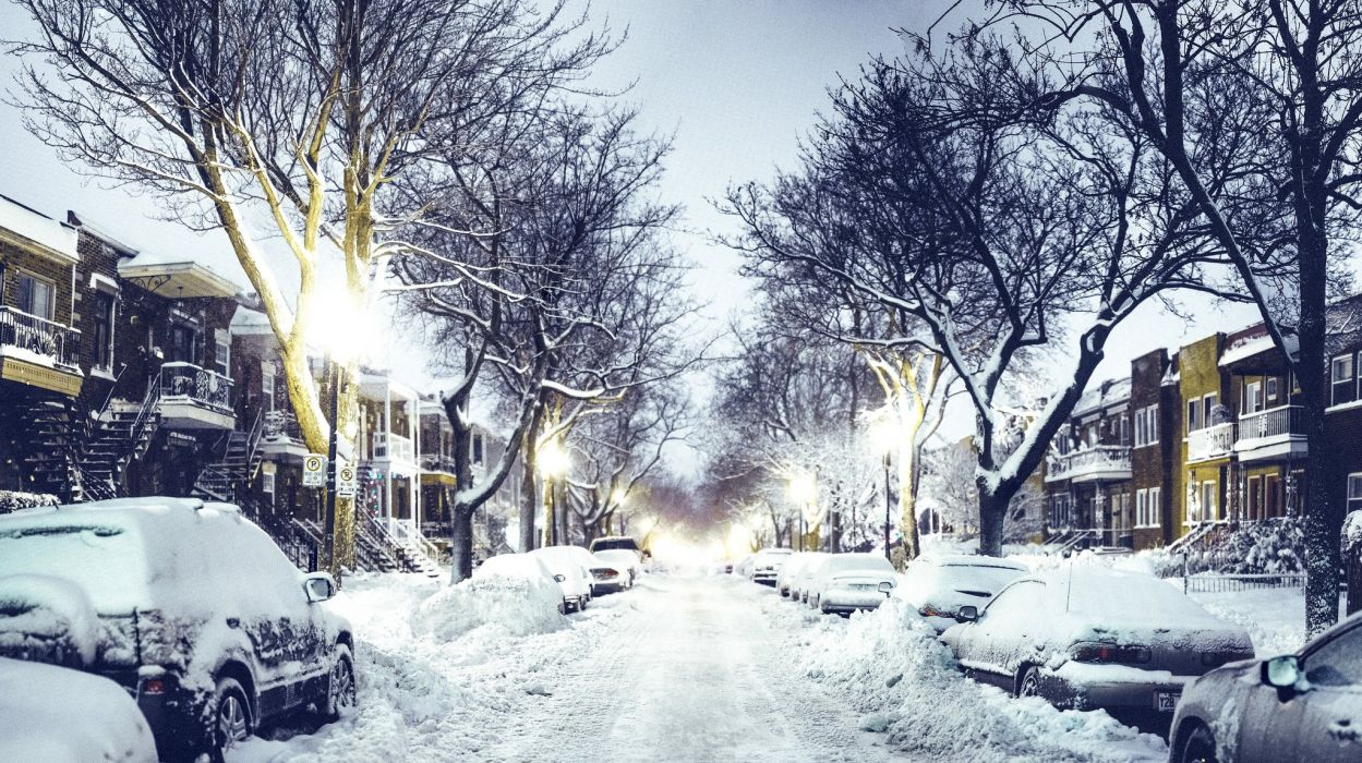 Winter City Wallpapers Top Free Winter City Backgrounds