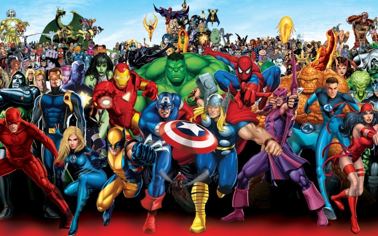 Marvel Cartoon Wallpapers Top Free Marvel Cartoon Backgrounds Wallpaperaccess