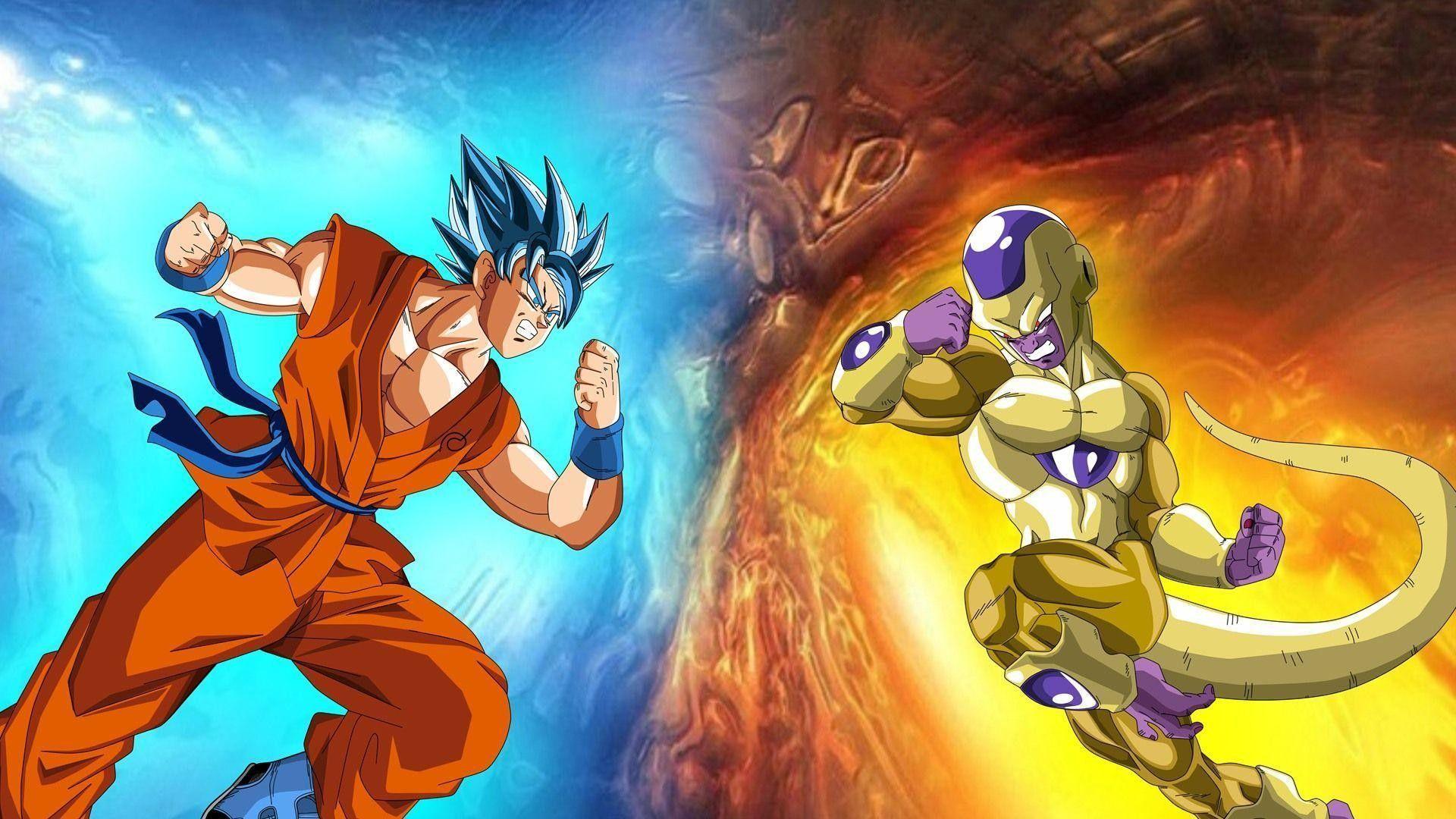 Goku Vs Frieza Wallpapers Top Free Goku Vs Frieza Backgrounds