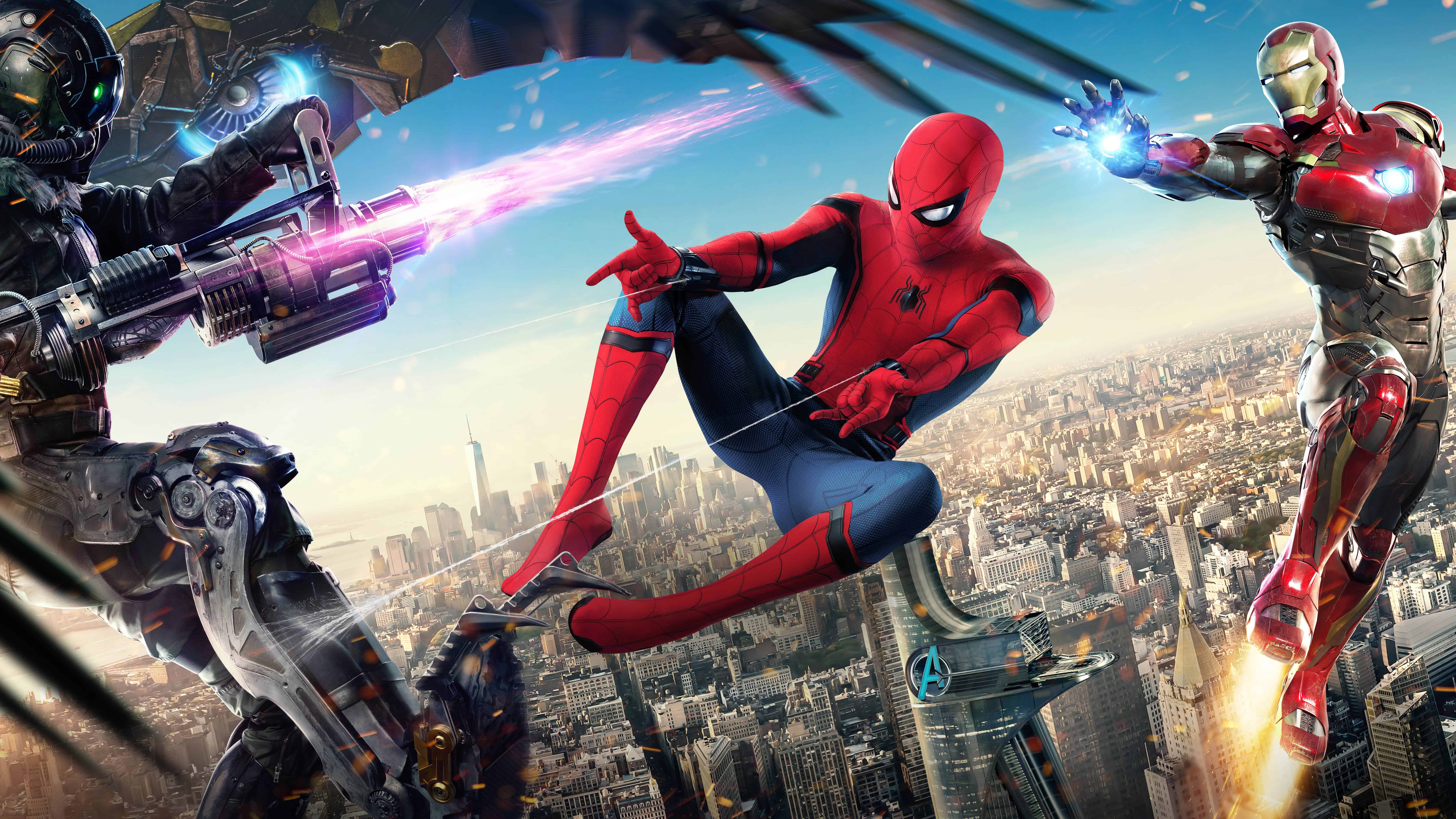 Spider Man Homecoming Ultra Hd Wallpapers Top Free Spider