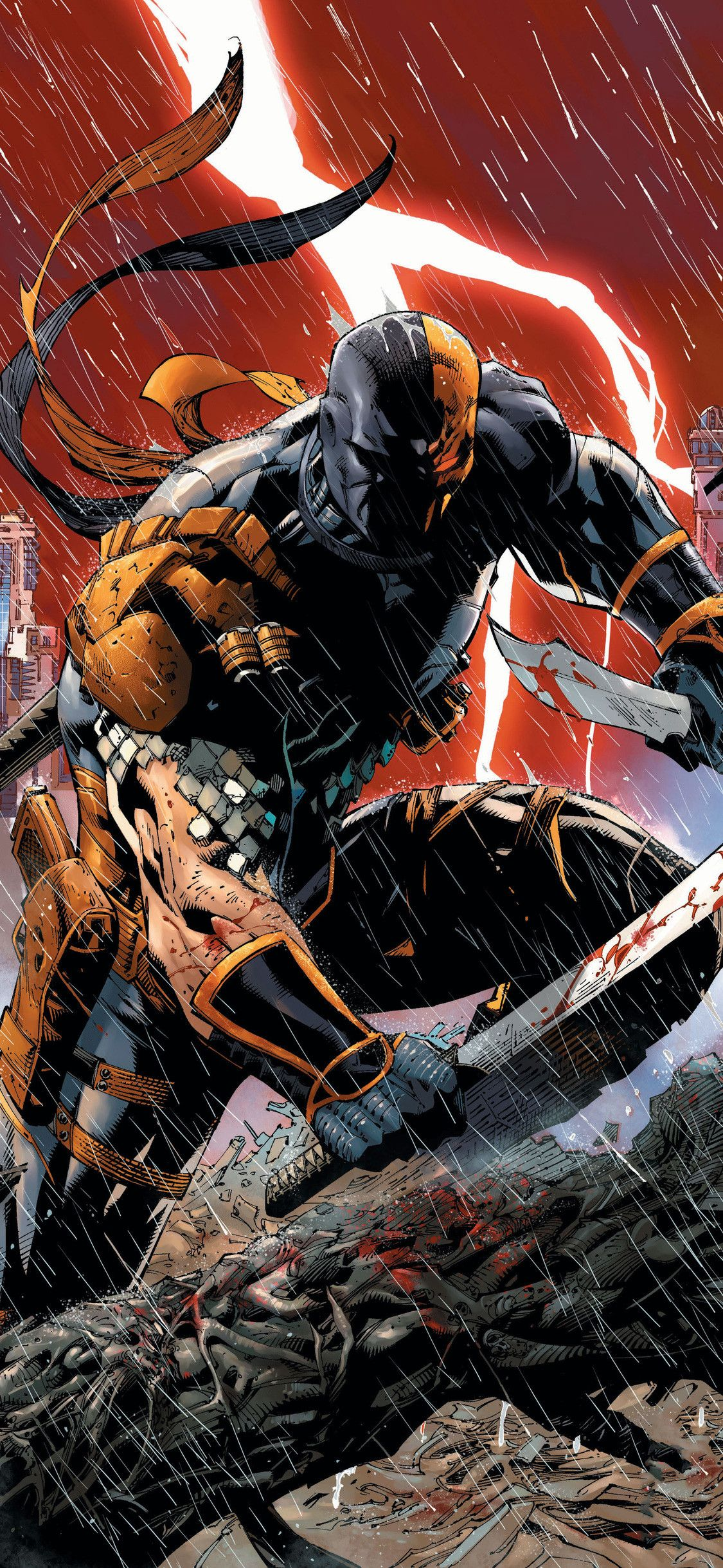 Deathstroke Iphone Wallpapers Top Free Deathstroke Iphone Backgrounds Wallpaperaccess