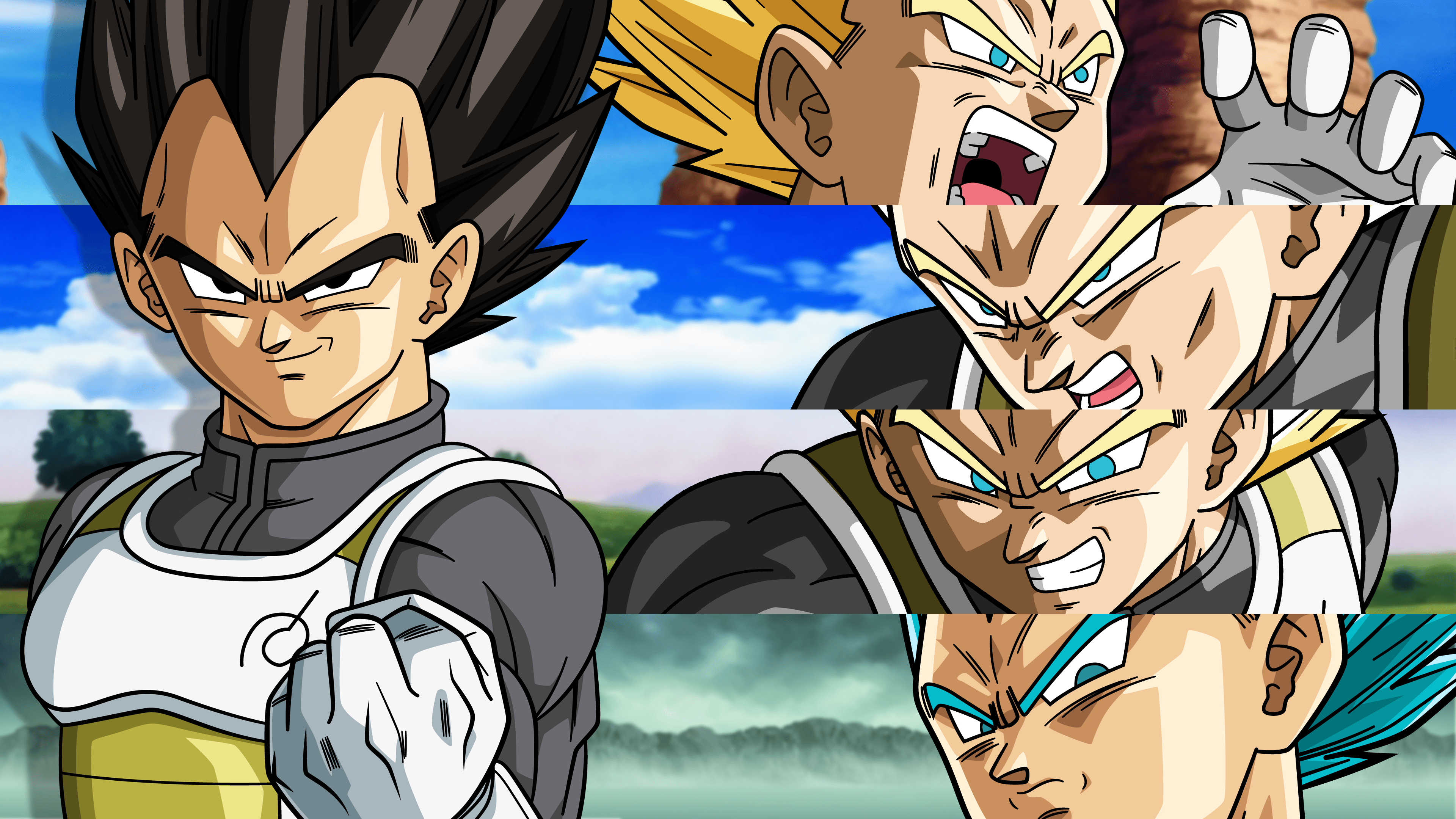 Vegeta New Form Wallpapers Top Free Vegeta New Form Backgrounds Wallpaperaccess