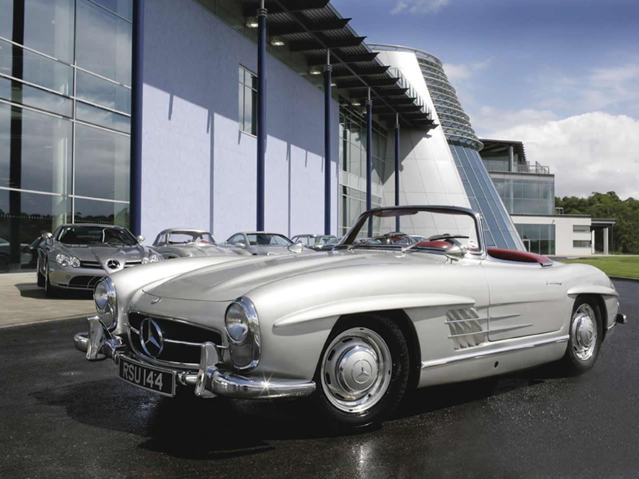 Classic Mercedes SL Wallpapers - Top Free Classic Mercedes SL