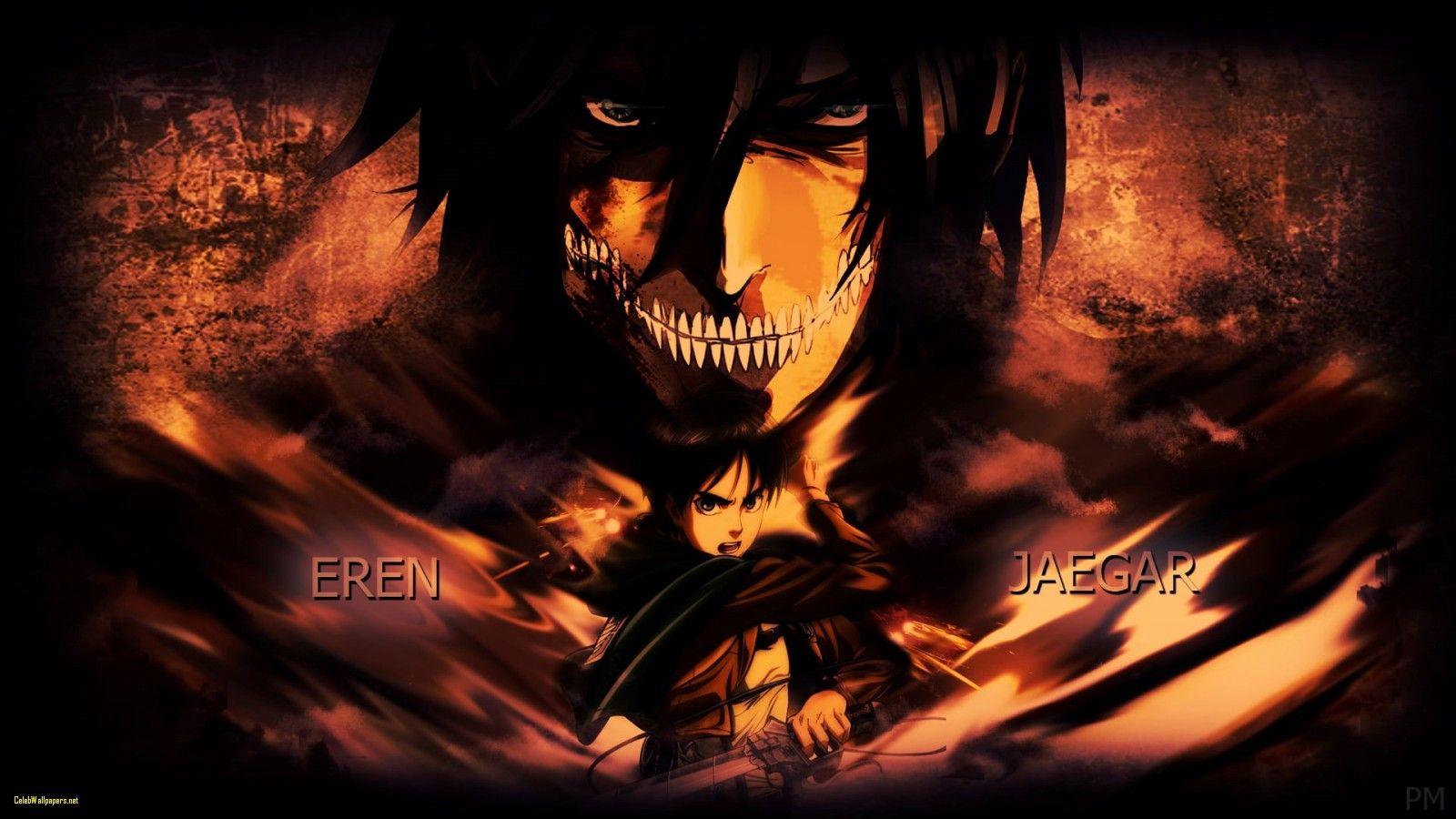 48 Best Free Titan Eren Wallpapers Wallpaperaccess